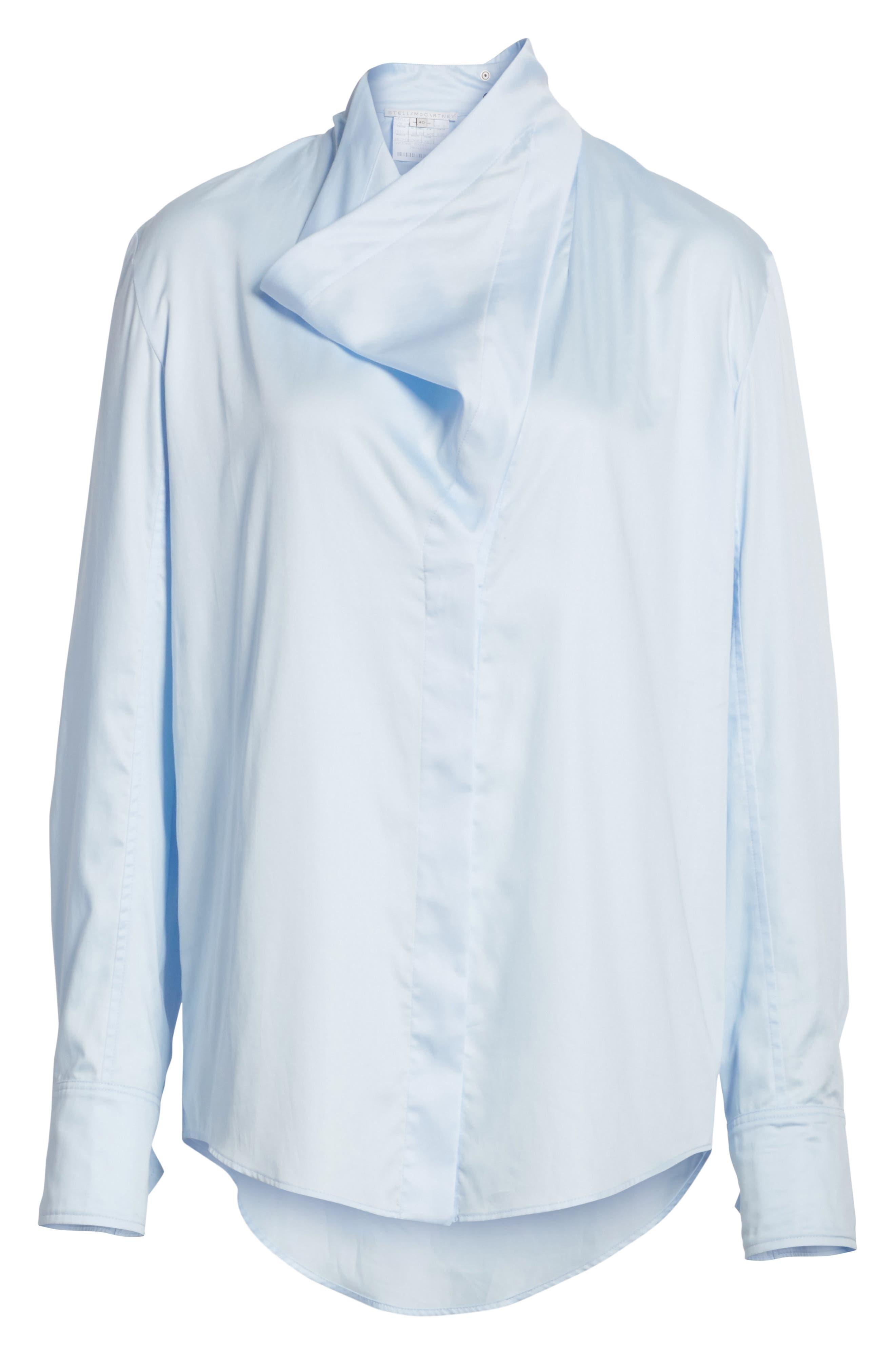 Damiane Cotton Poplin Shirt,                             Alternate thumbnail 6, color,