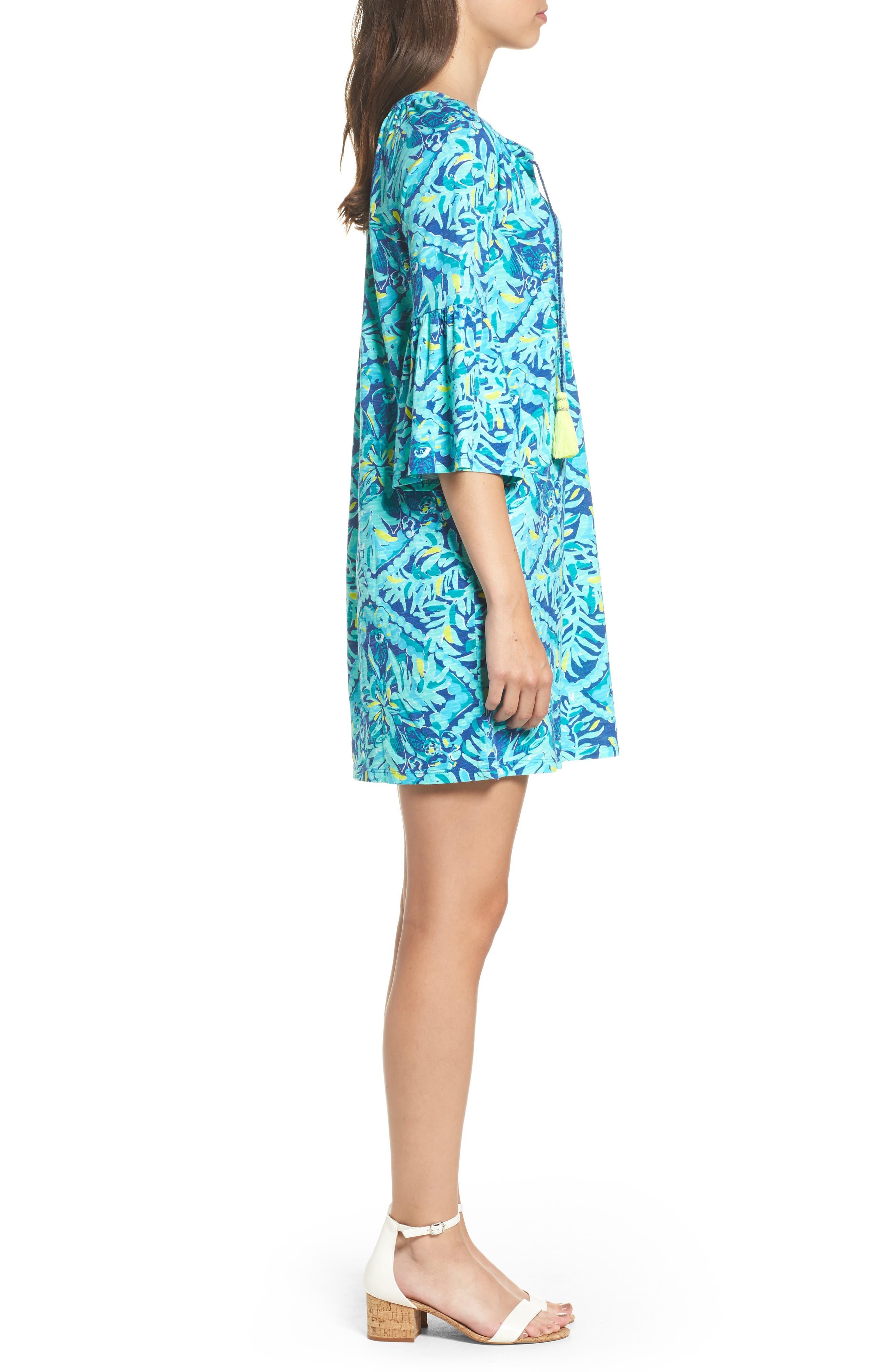 Del Lago Tunic Dress,                             Alternate thumbnail 3, color,