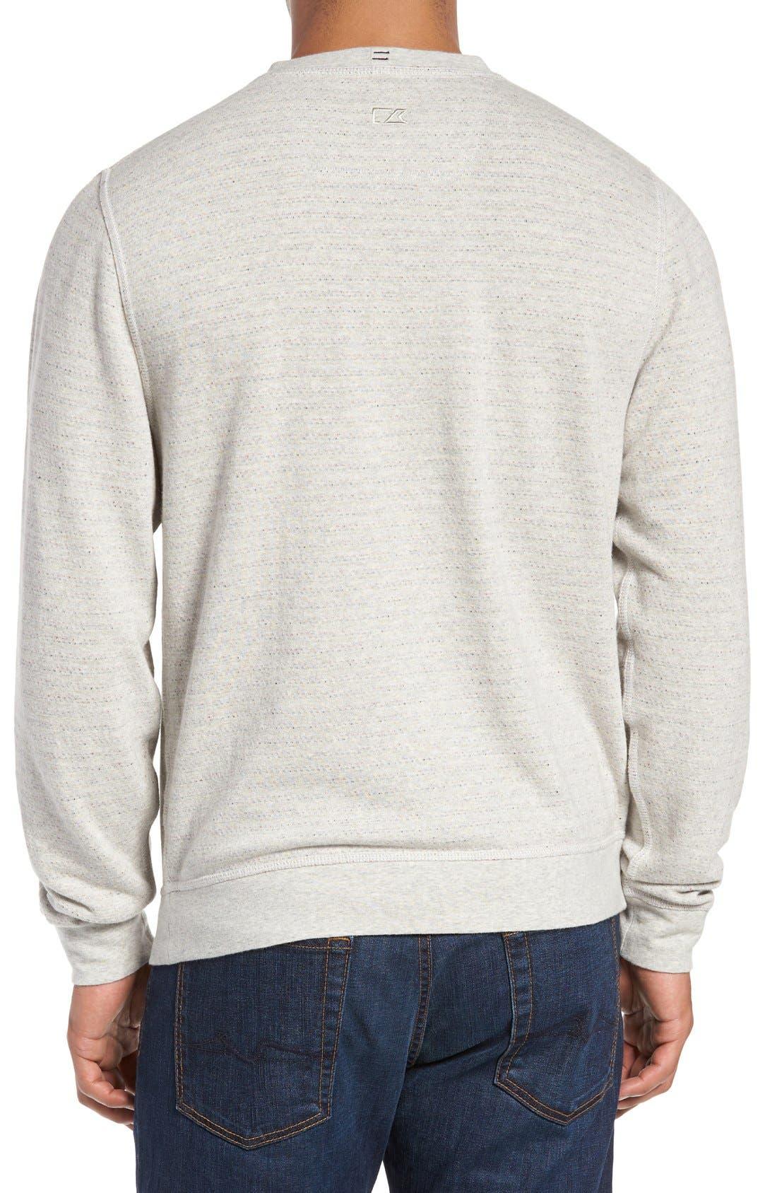 'Gleann' French Terry Crewneck Sweatshirt,                             Alternate thumbnail 4, color,                             250