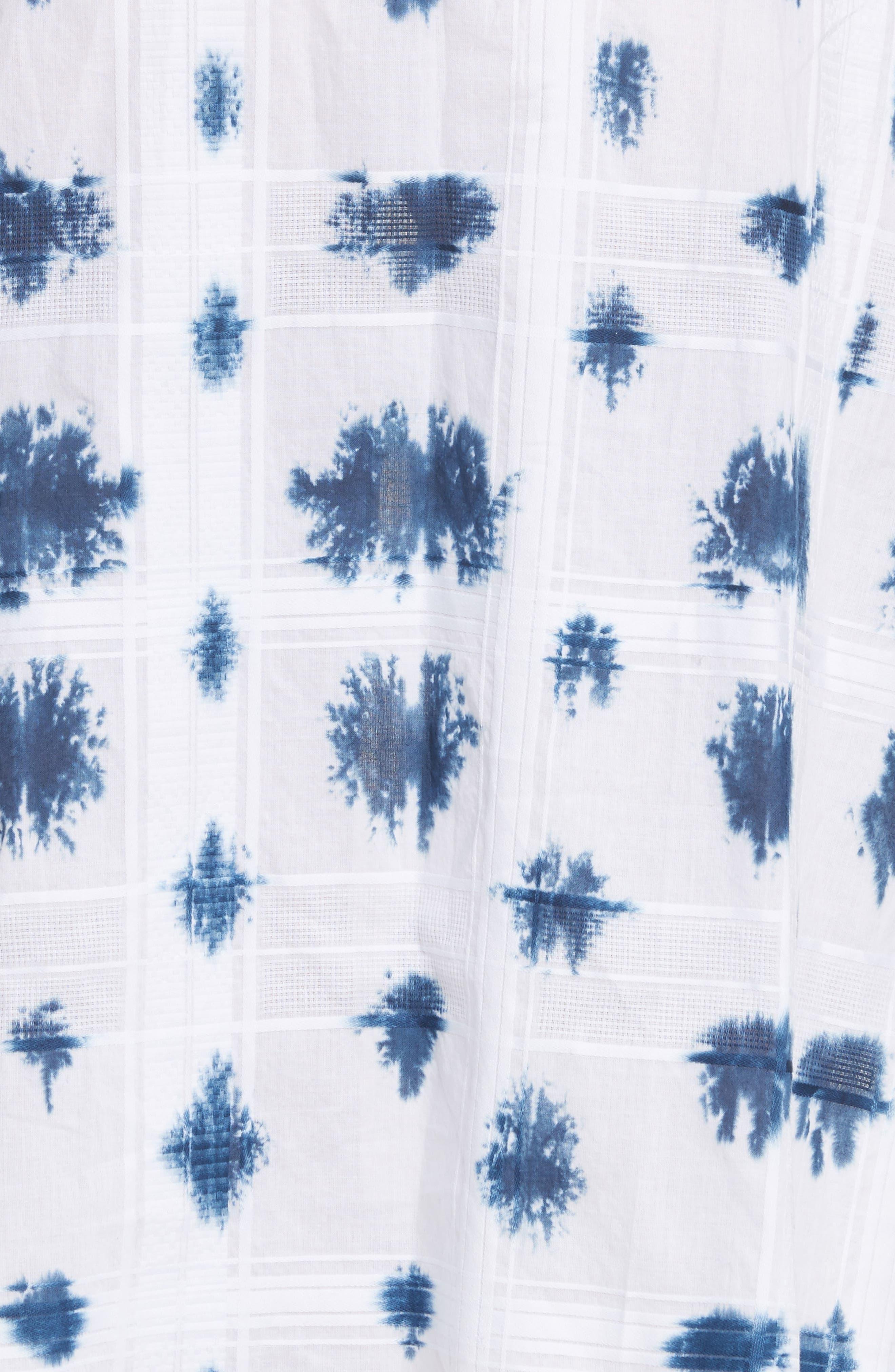 Weekend Tie Dye Dress,                             Alternate thumbnail 5, color,                             122