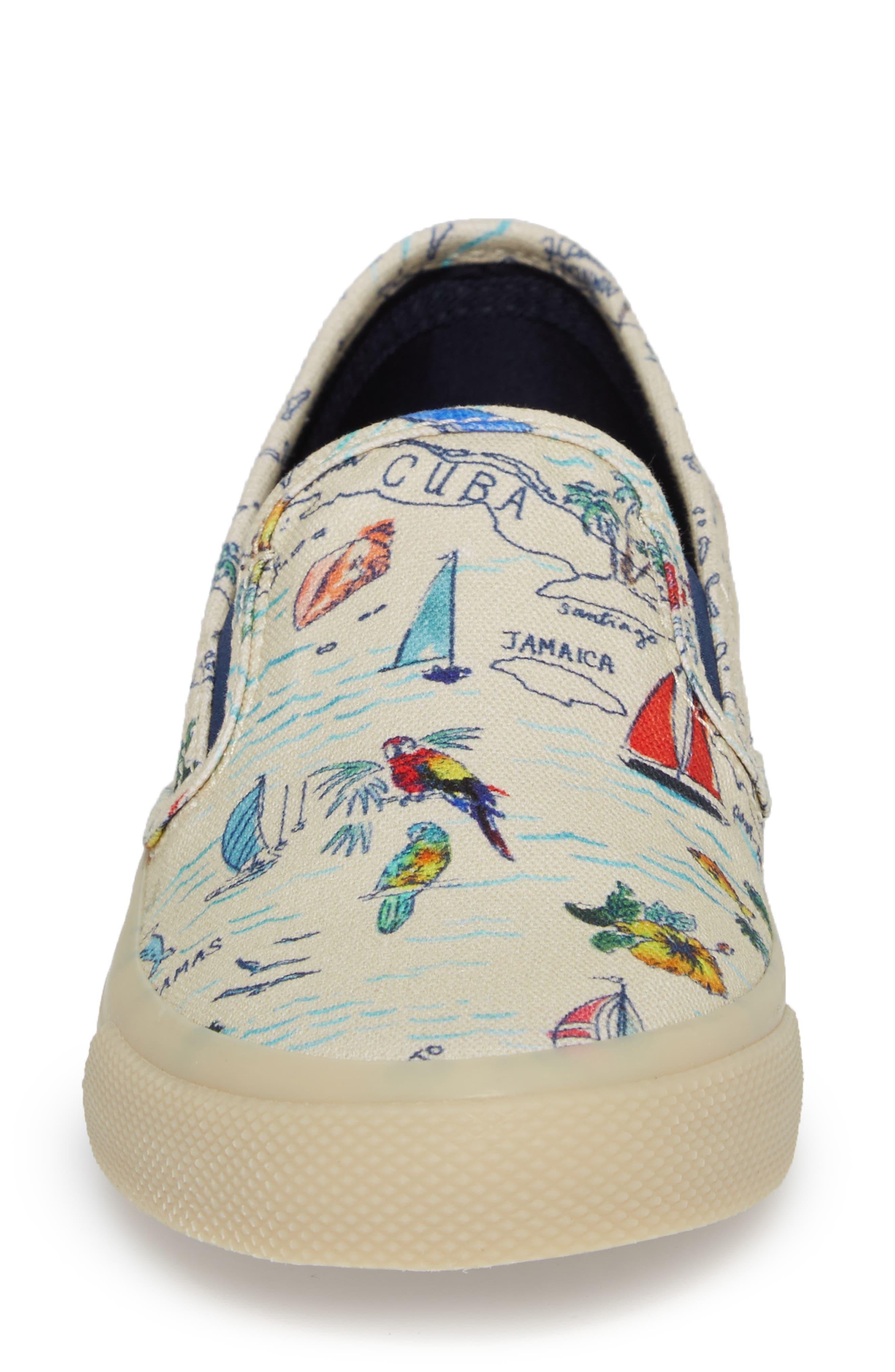 Seaside Slip-On Sneaker,                             Alternate thumbnail 4, color,                             101