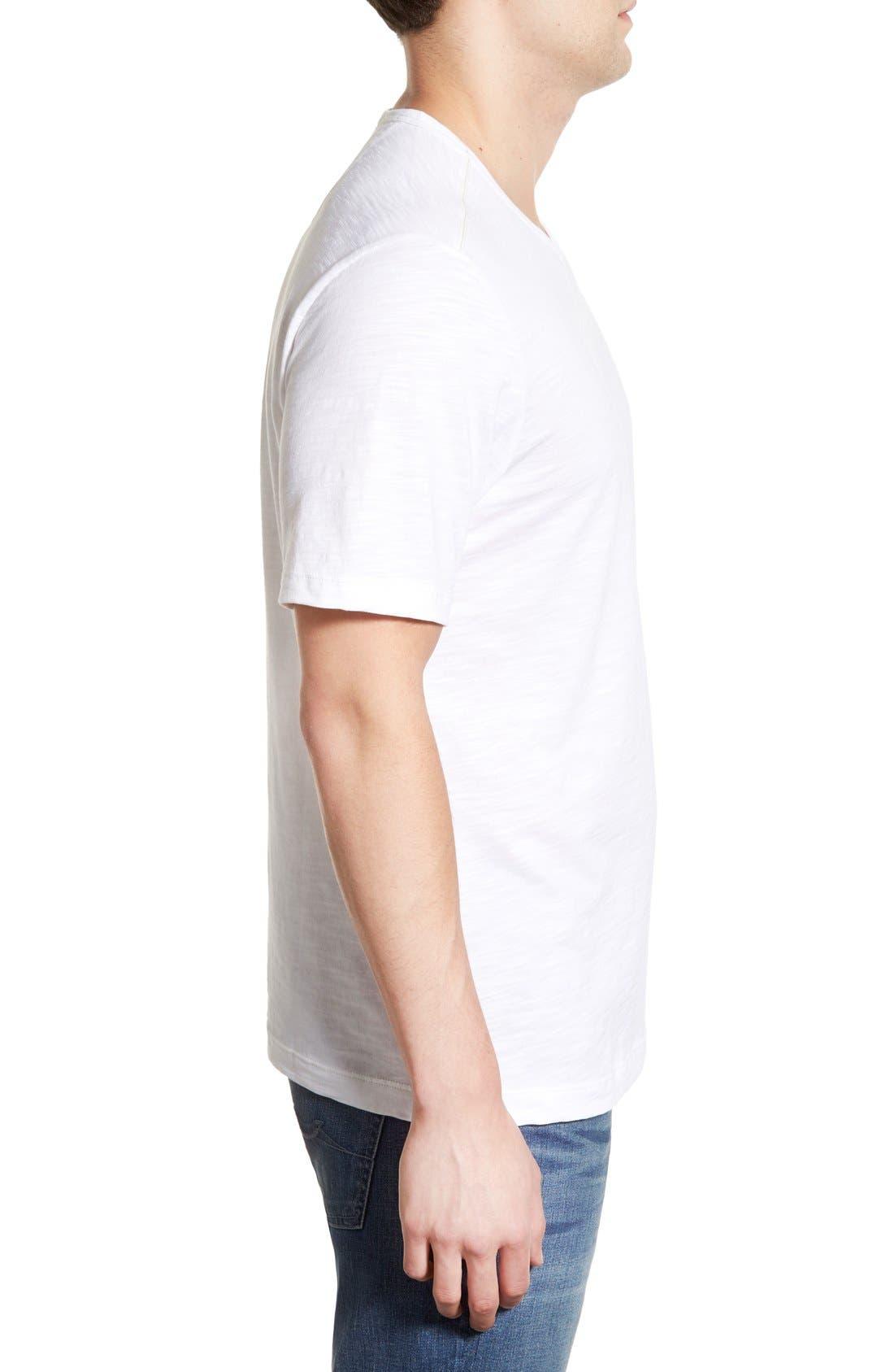 'Portside Player' Pima Cotton T-Shirt,                             Alternate thumbnail 24, color,