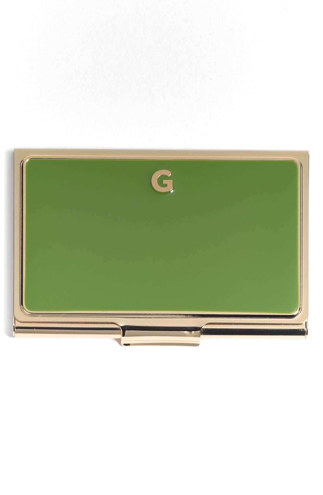 'one in a million' business card holder,                             Main thumbnail 7, color,