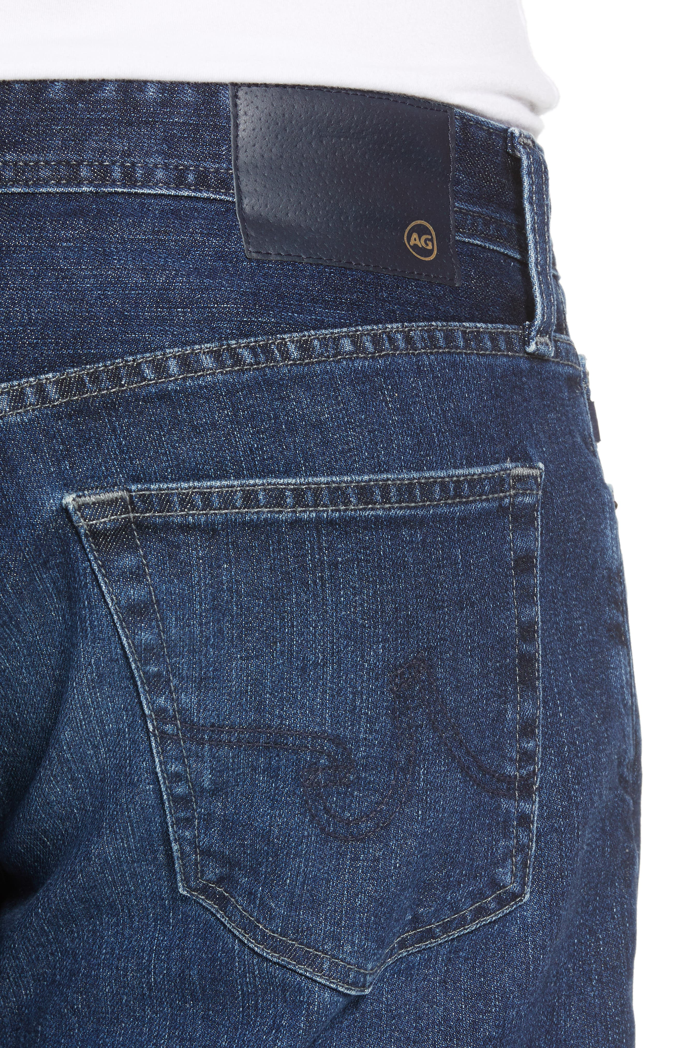 Ives Straight Leg Jeans,                             Alternate thumbnail 4, color,                             LAKEVIEW