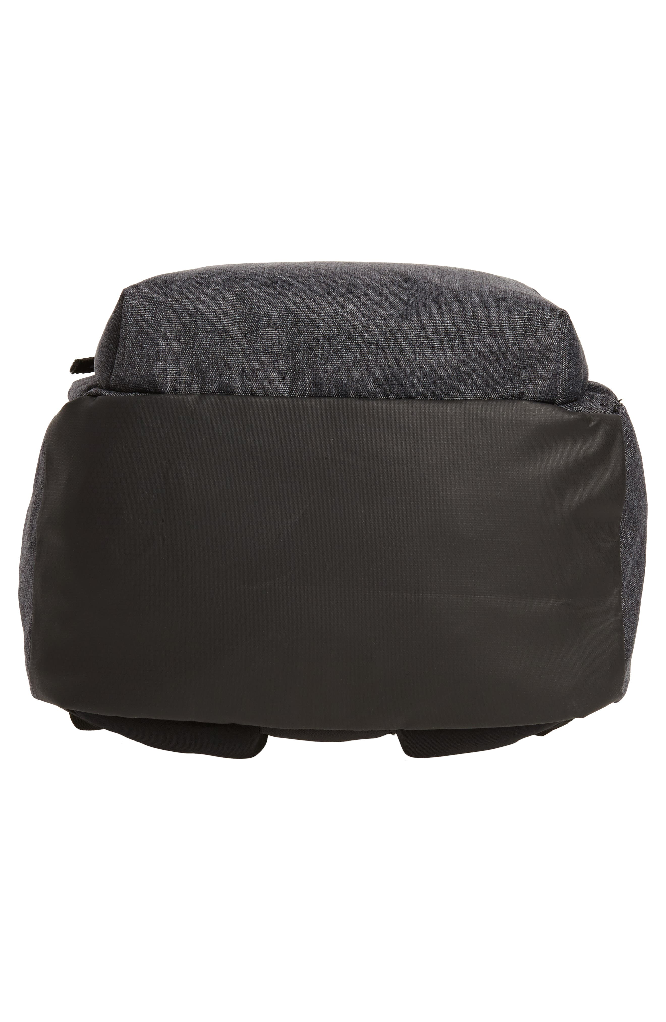 National Plus Backpack,                             Alternate thumbnail 6, color,                             BLACK/ GREY HEATHER/ WHITE