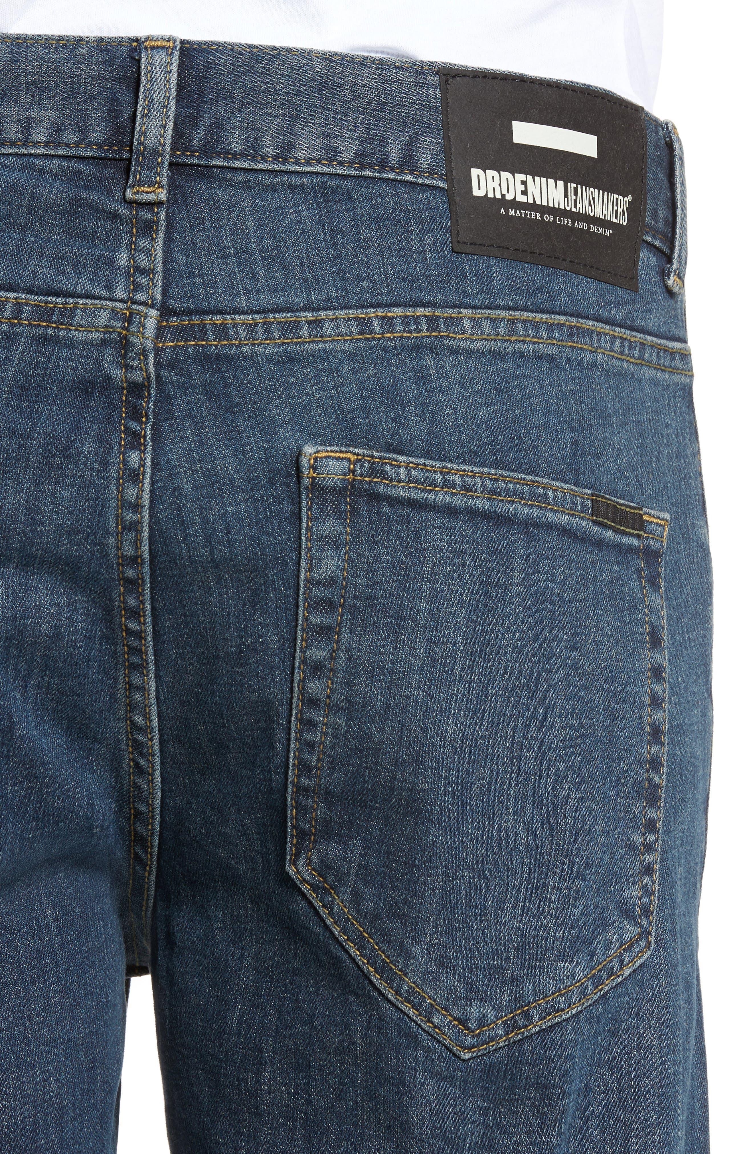 Clark Slim Straight Leg Jeans,                             Alternate thumbnail 4, color,                             400