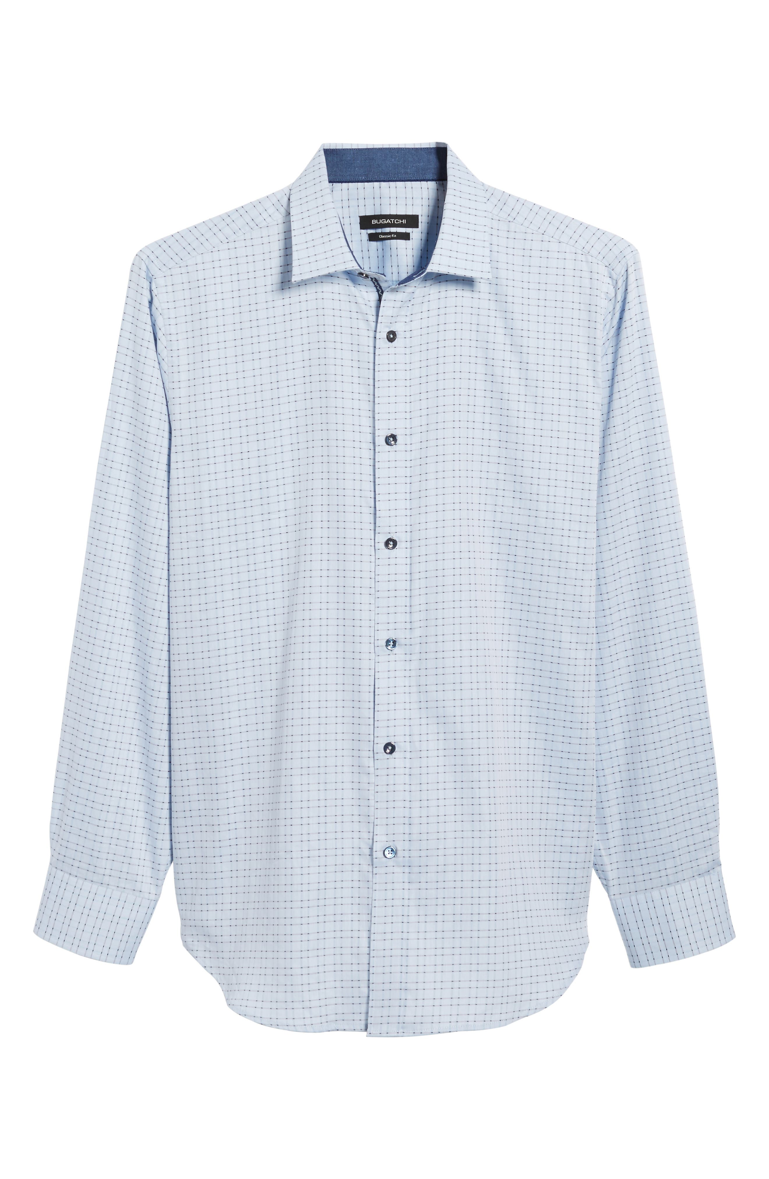 Classic Fit Check Sport Shirt,                             Alternate thumbnail 6, color,                             459