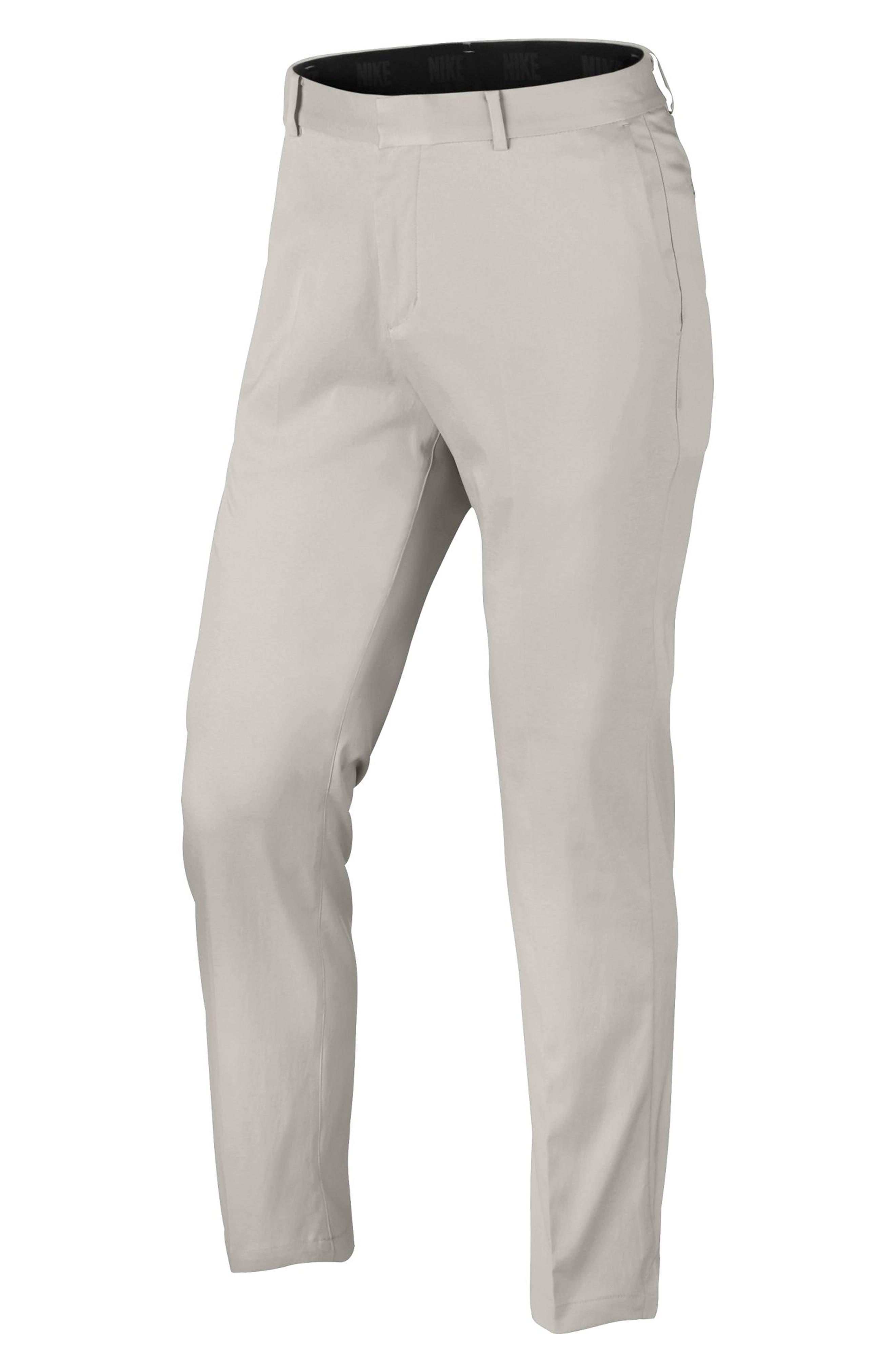 Flat Front Dri-FIT Tech Golf Pants,                             Alternate thumbnail 5, color,                             LIGHT BONE/ LIGHT BONE