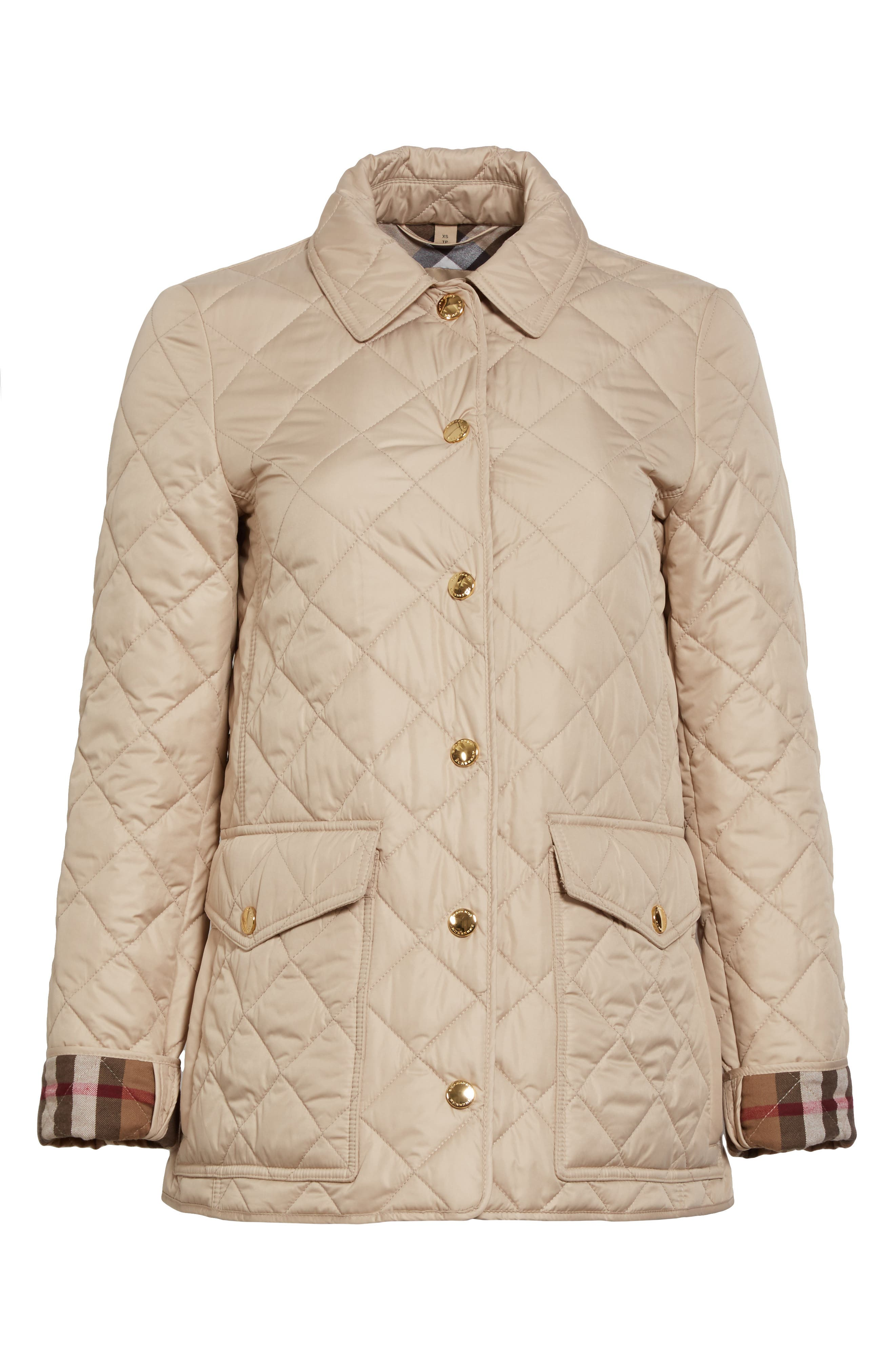Westbridge Quilted Jacket,                             Alternate thumbnail 6, color,                             250