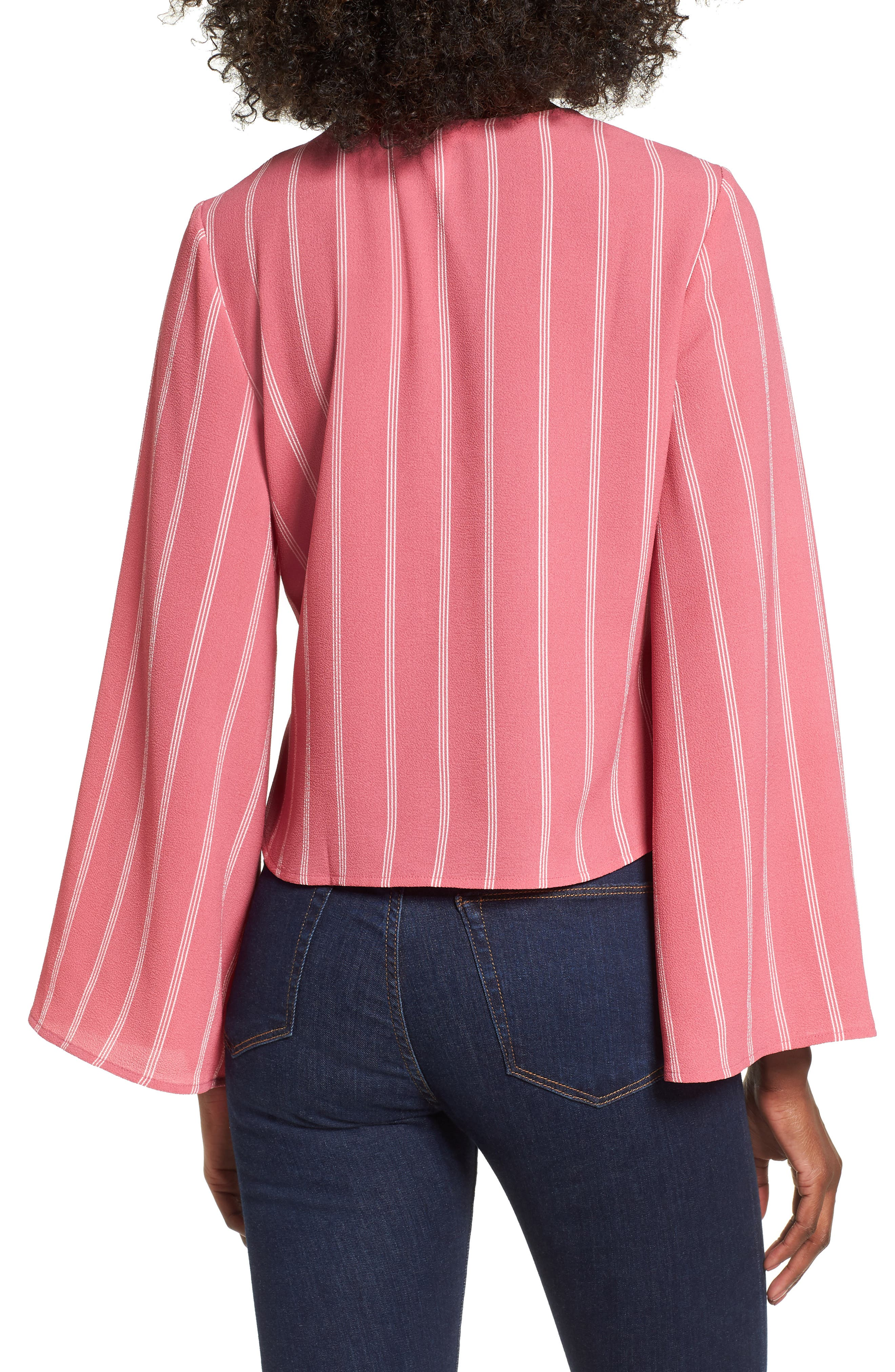Ruched Front Top,                             Alternate thumbnail 6, color,