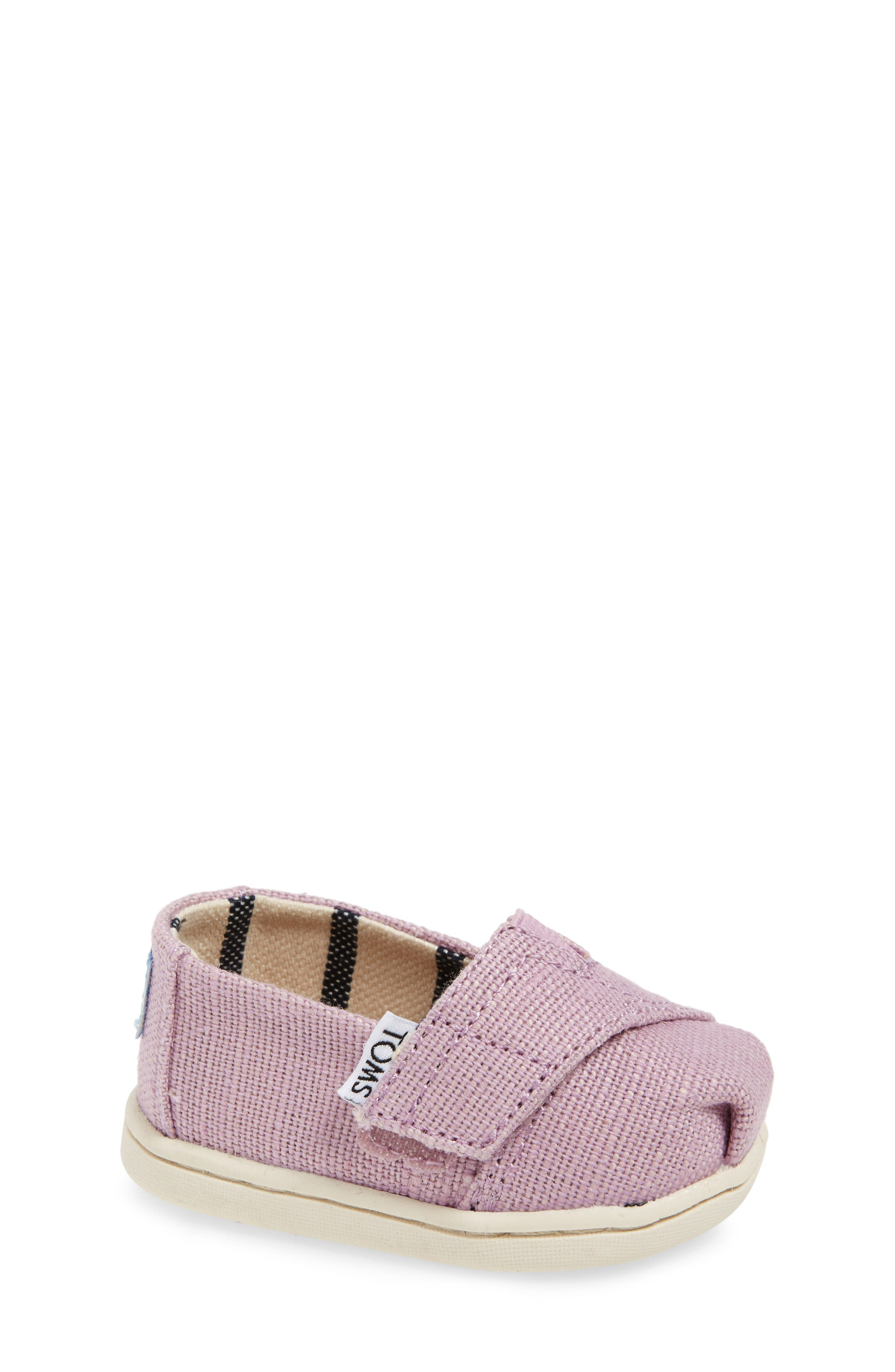 Heritage Canvas Slip-On,                         Main,                         color, SOFT LILAC HERITAGE CANVAS