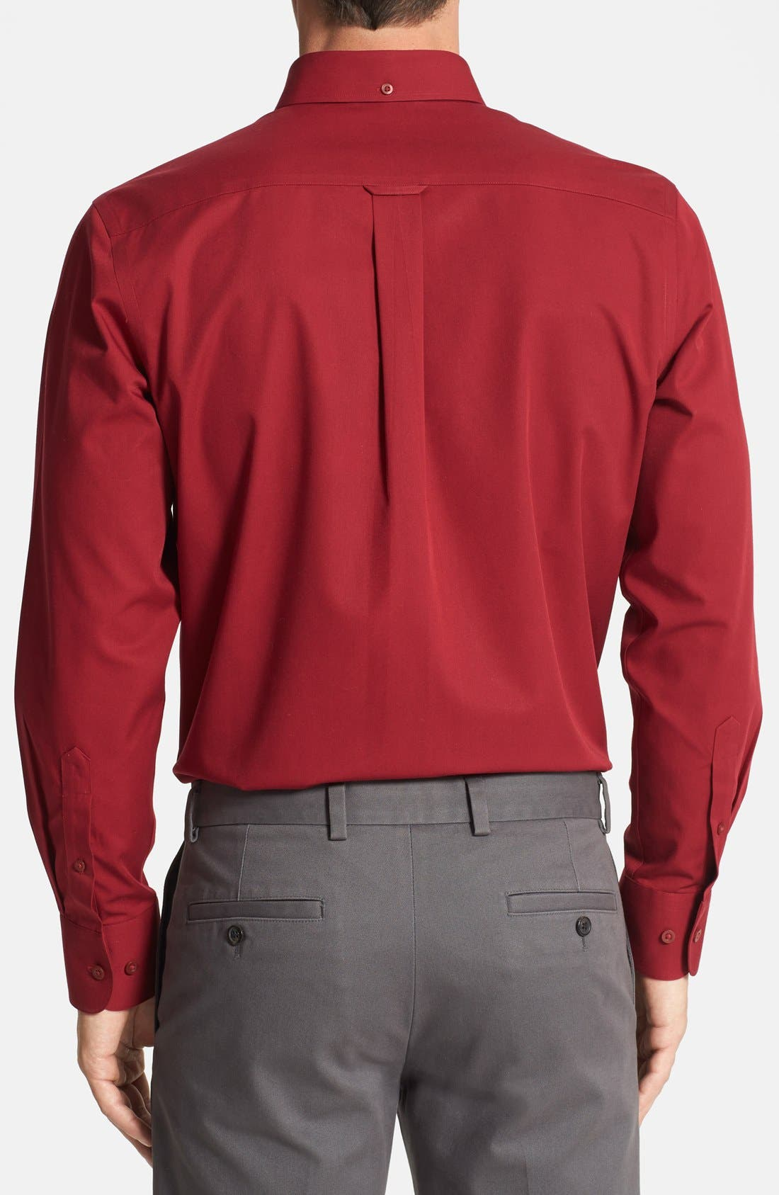 Smartcare<sup>™</sup> Traditional Fit Twill Boat Shirt,                             Alternate thumbnail 71, color,