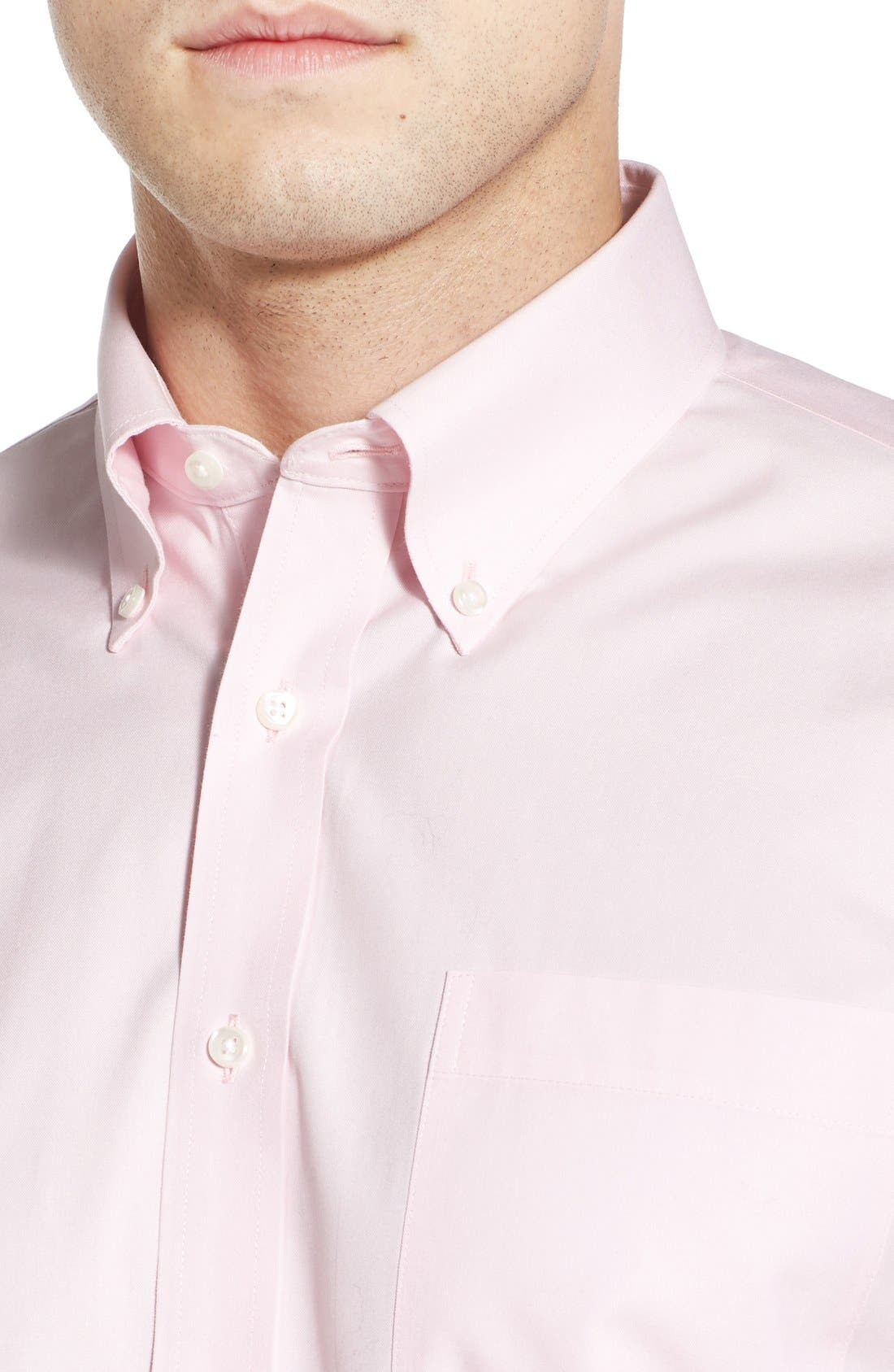 Smartcare<sup>™</sup> Traditional Fit Pinpoint Dress Shirt,                             Alternate thumbnail 78, color,