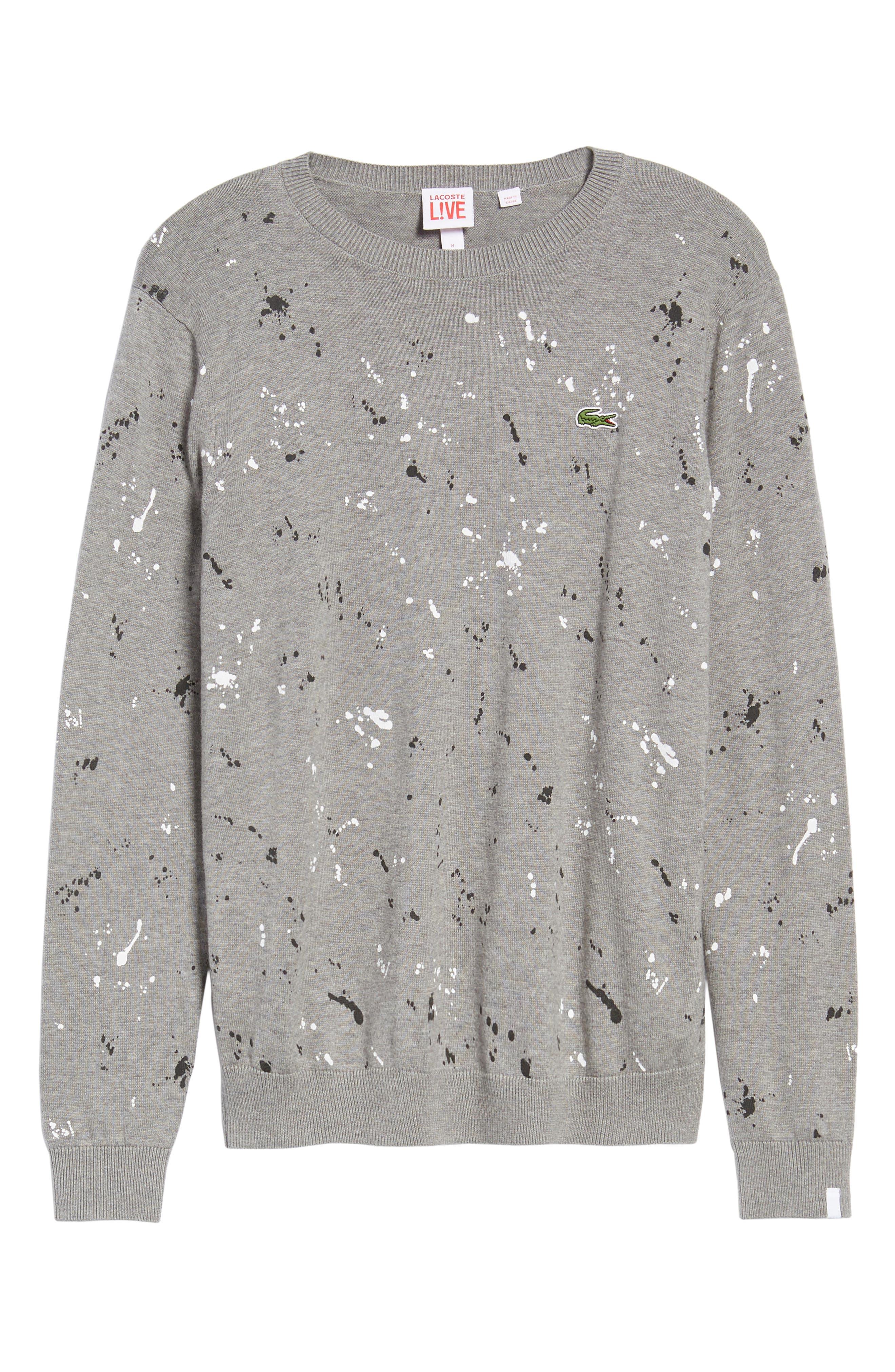 Splatter Sweater,                             Alternate thumbnail 6, color,                             062