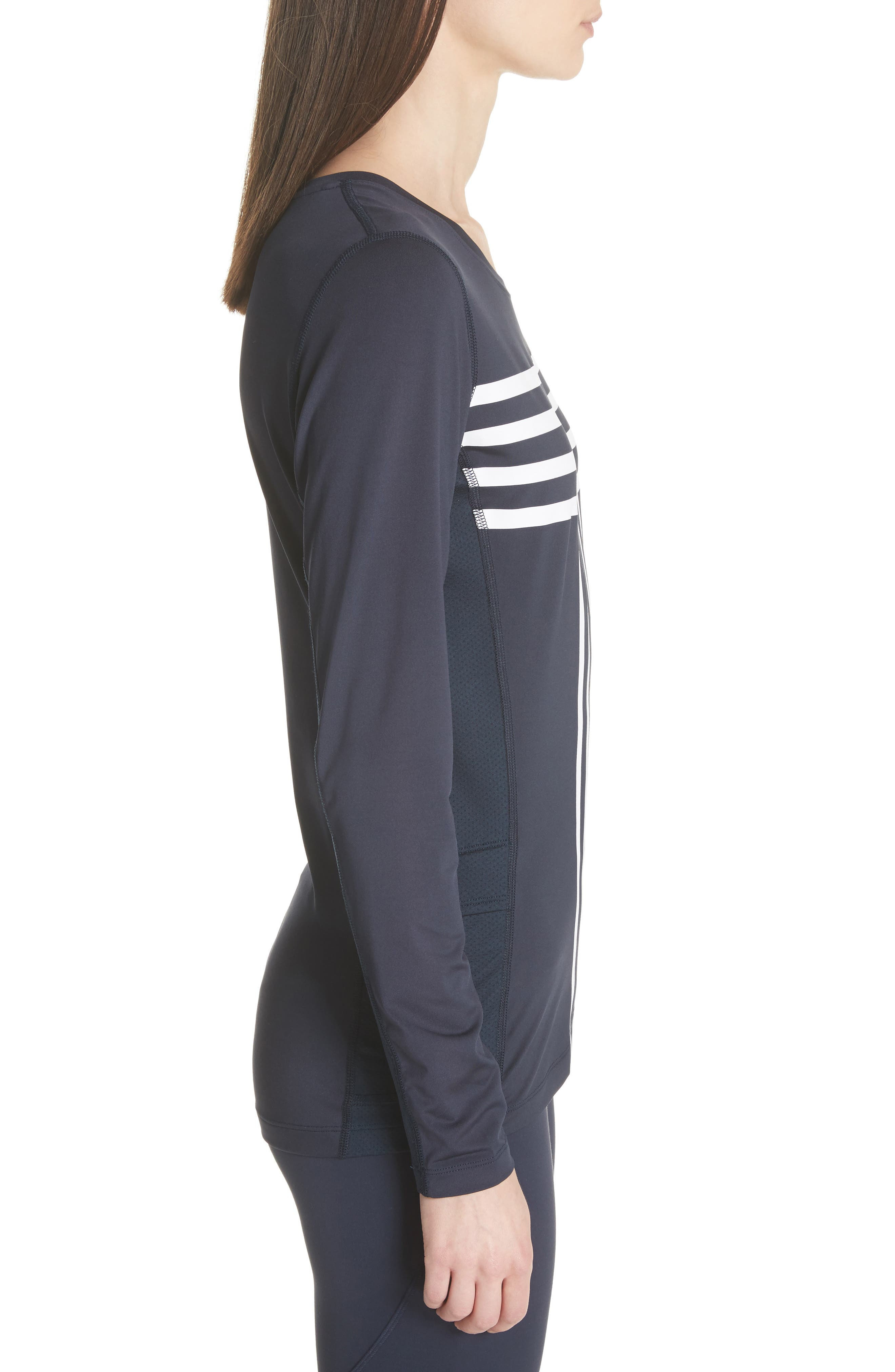 Graphic Performance Top,                             Alternate thumbnail 3, color,                             TORY NAVY