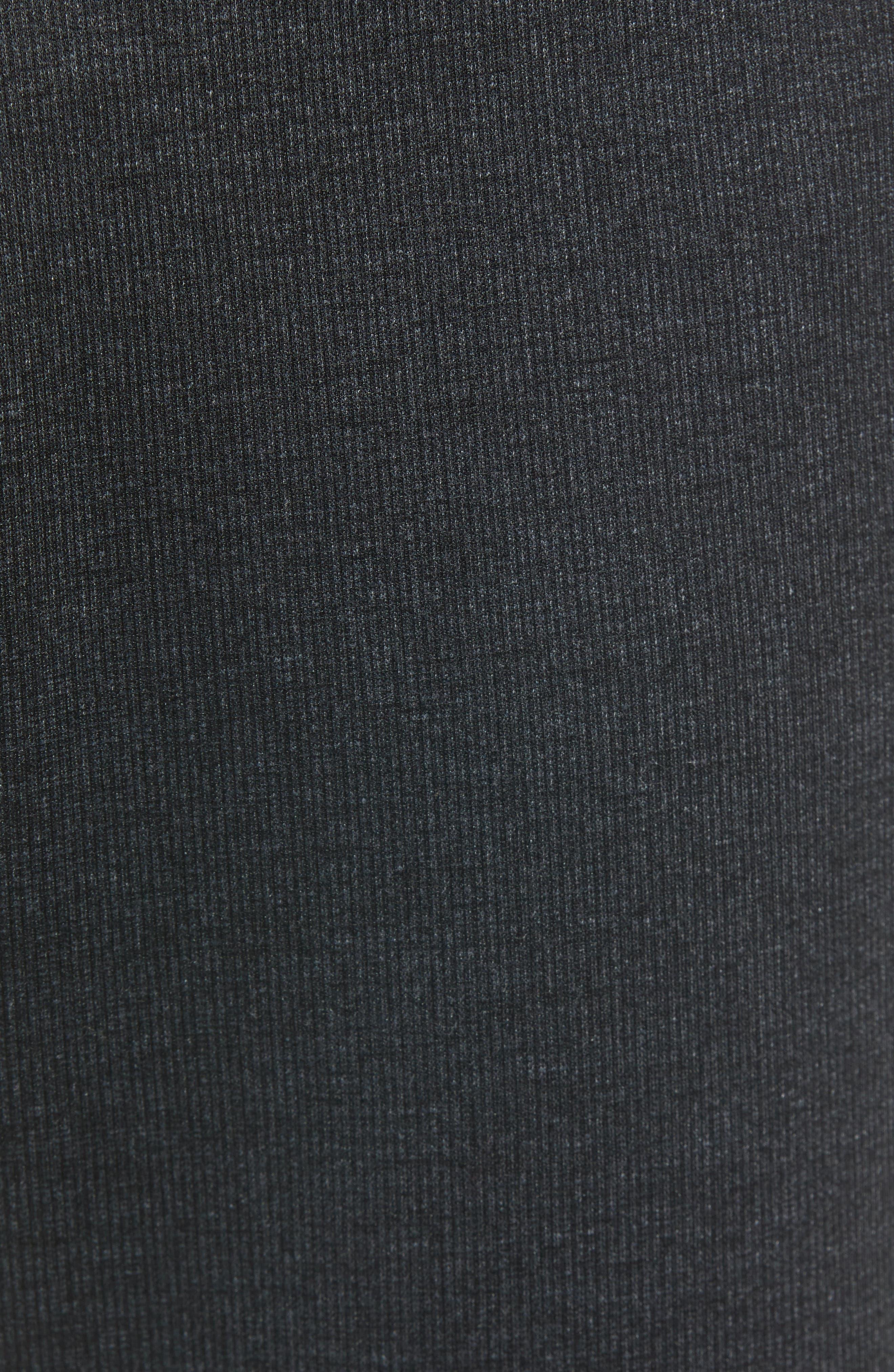 Slim Fit Ponte Knit Trousers,                             Alternate thumbnail 5, color,                             020