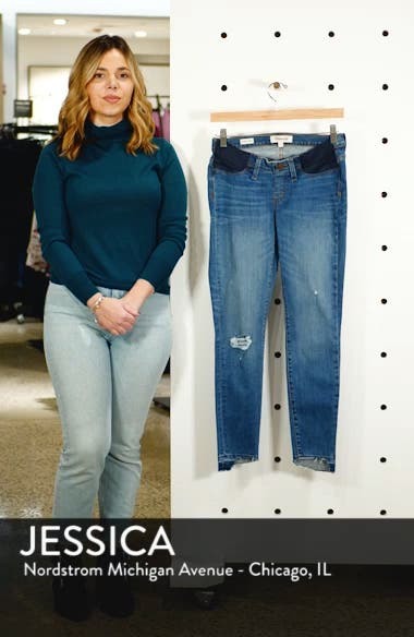 Maternity Skinny Jeans, sales video thumbnail