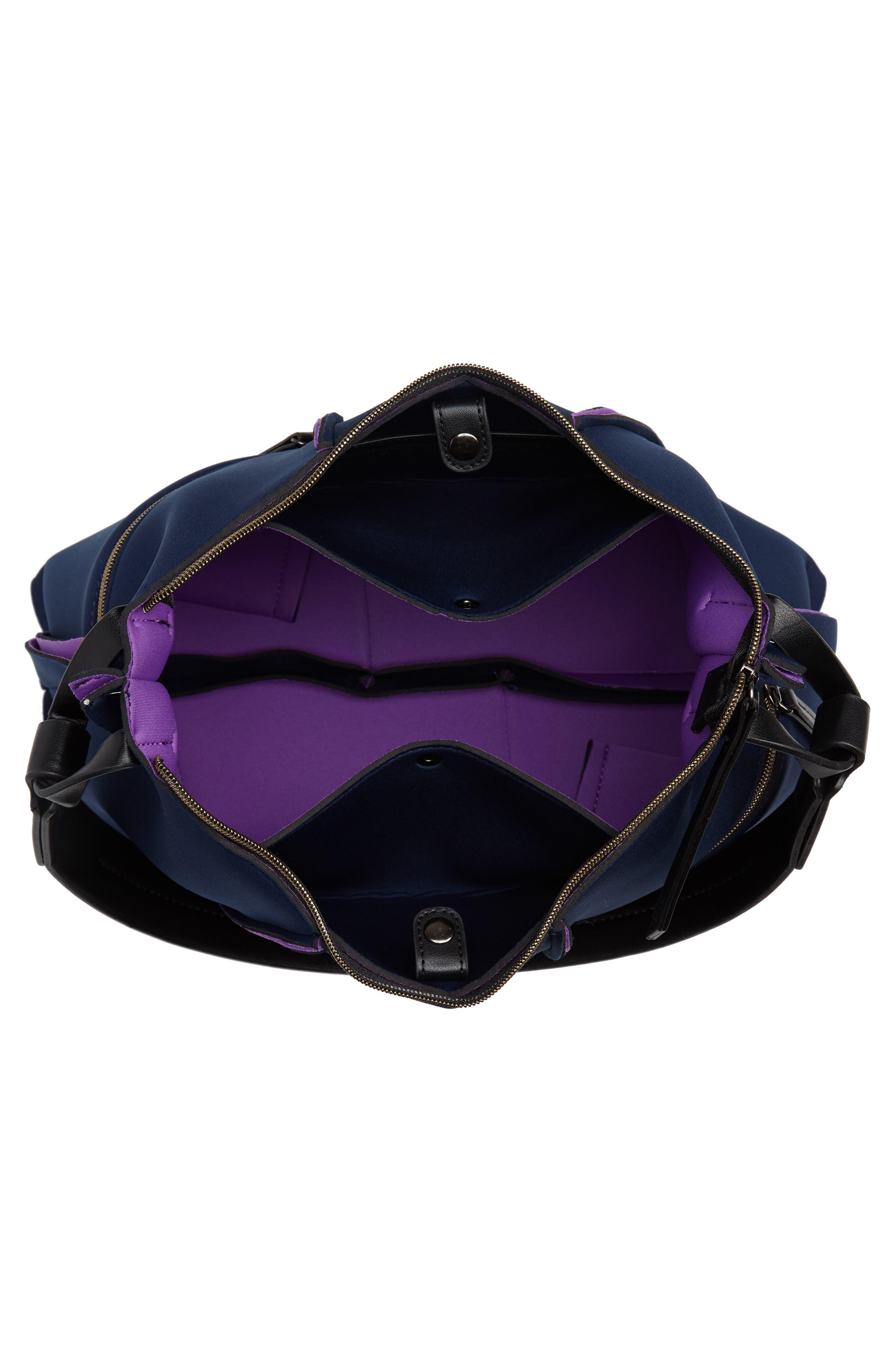 Neoprene Hobo,                             Alternate thumbnail 4, color,                             NAVY