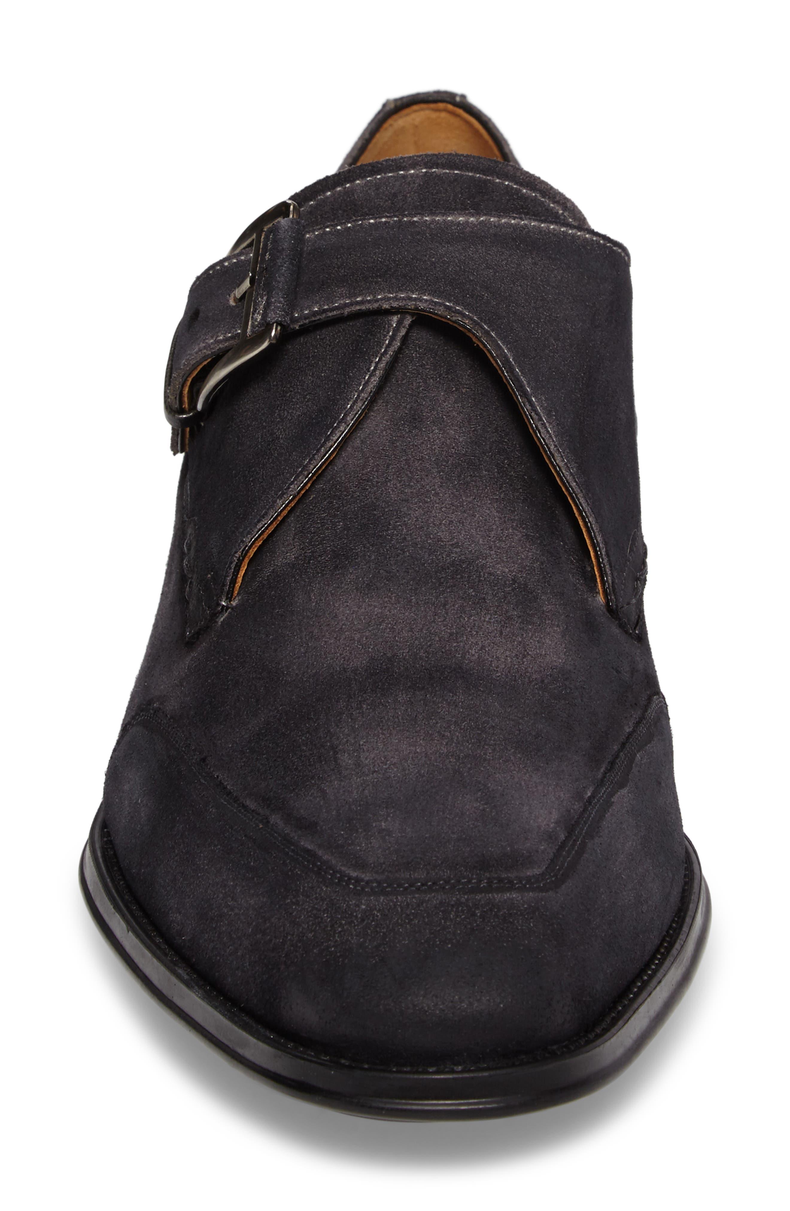 Baza Monk Strap Shoe,                             Alternate thumbnail 4, color,                             020