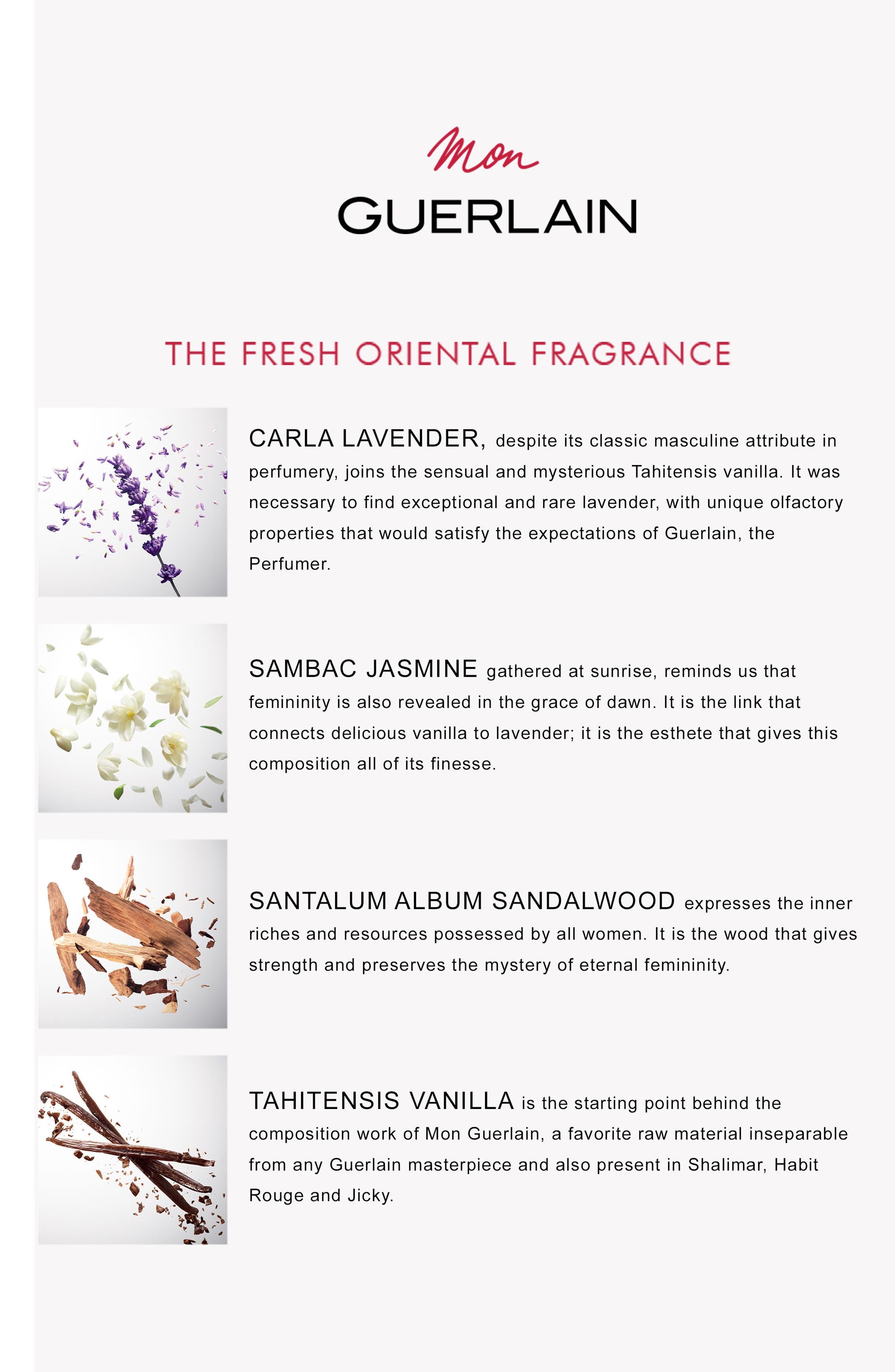 Mon Guerlain Eau de Parfum,                             Alternate thumbnail 3, color,                             NO COLOR