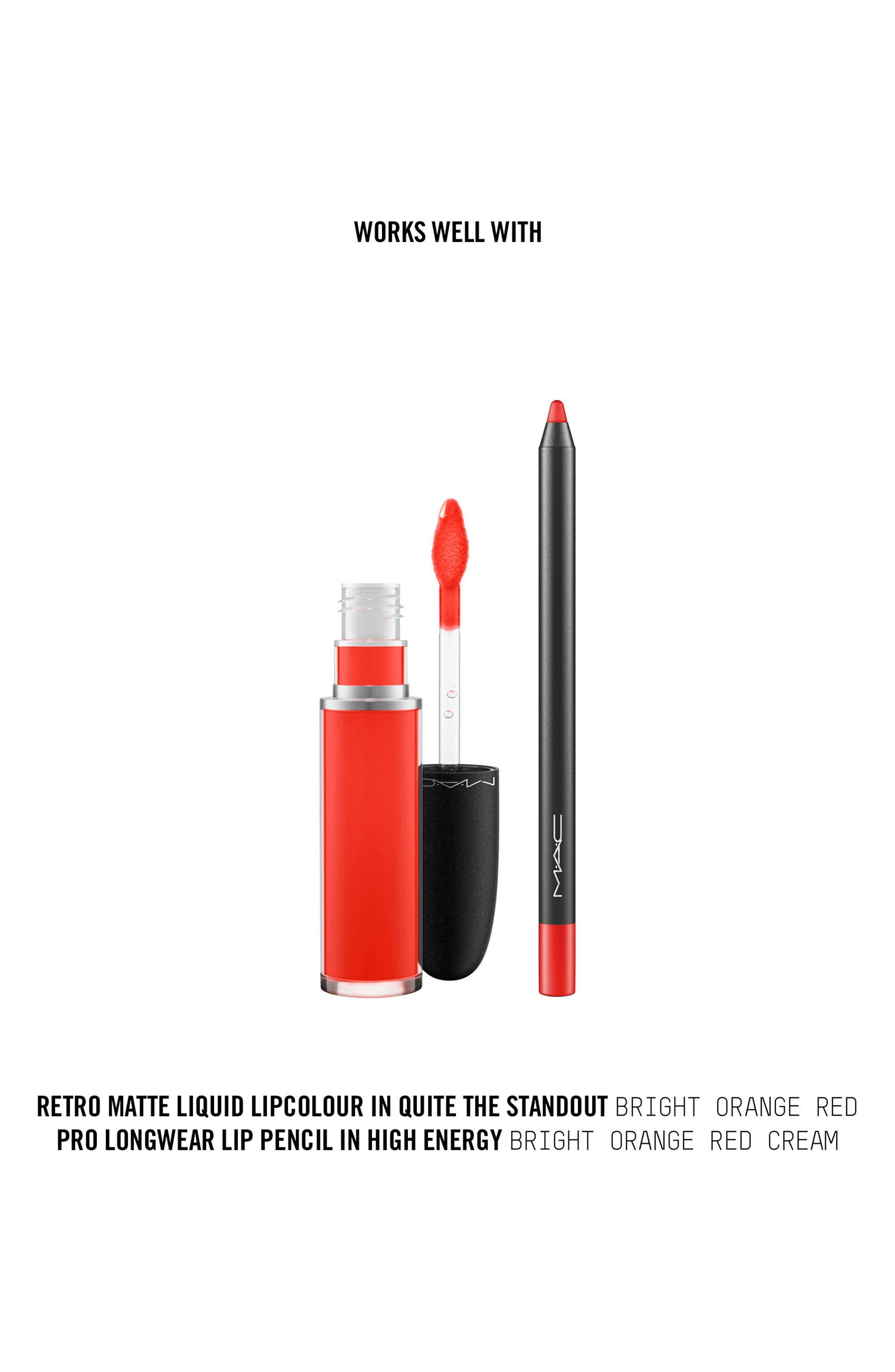 MAC Retro Matte Liquid Lipcolor,                             Alternate thumbnail 147, color,