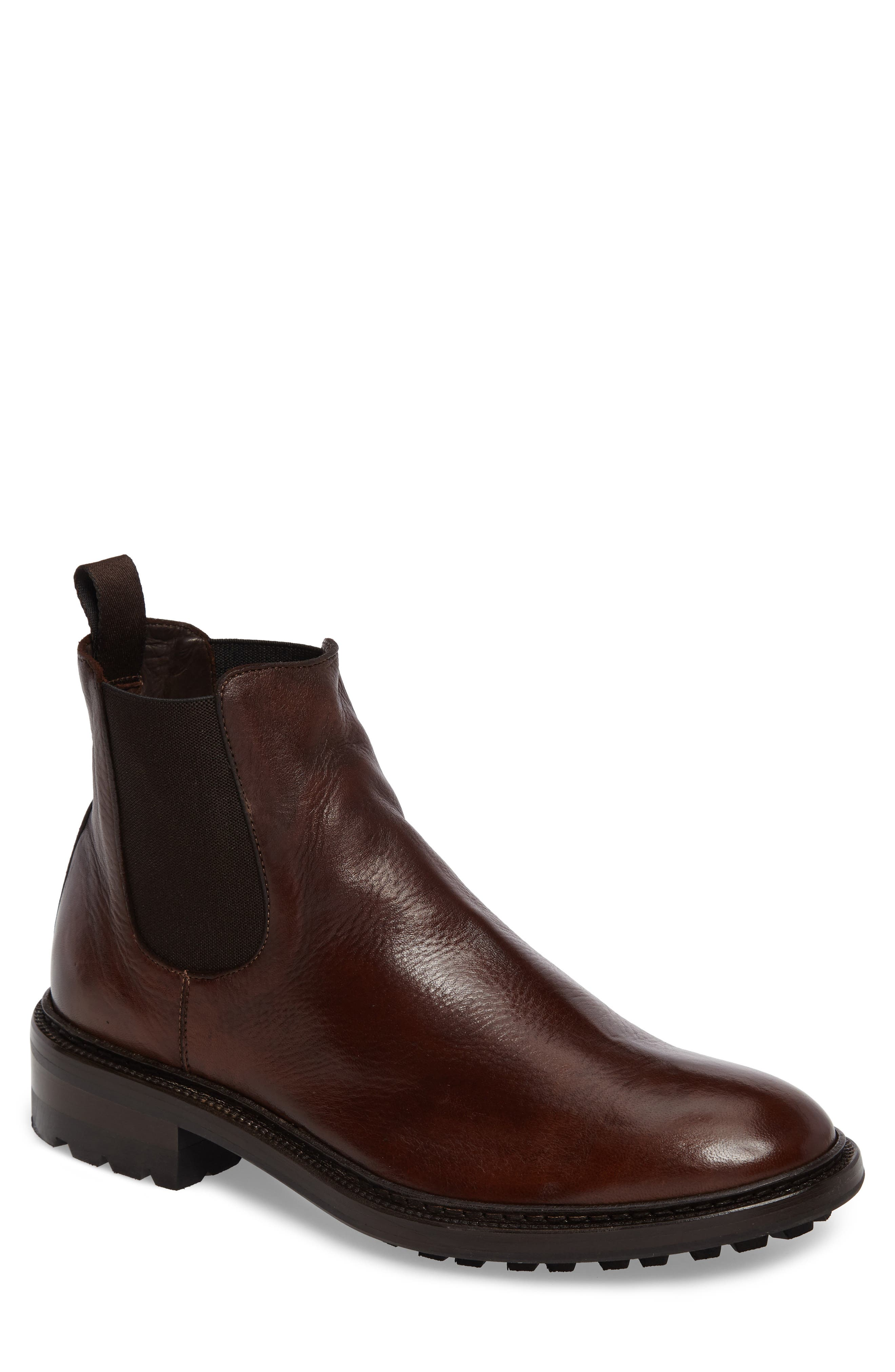 Greyson Chelsea Boot,                             Main thumbnail 1, color,                             COGNAC