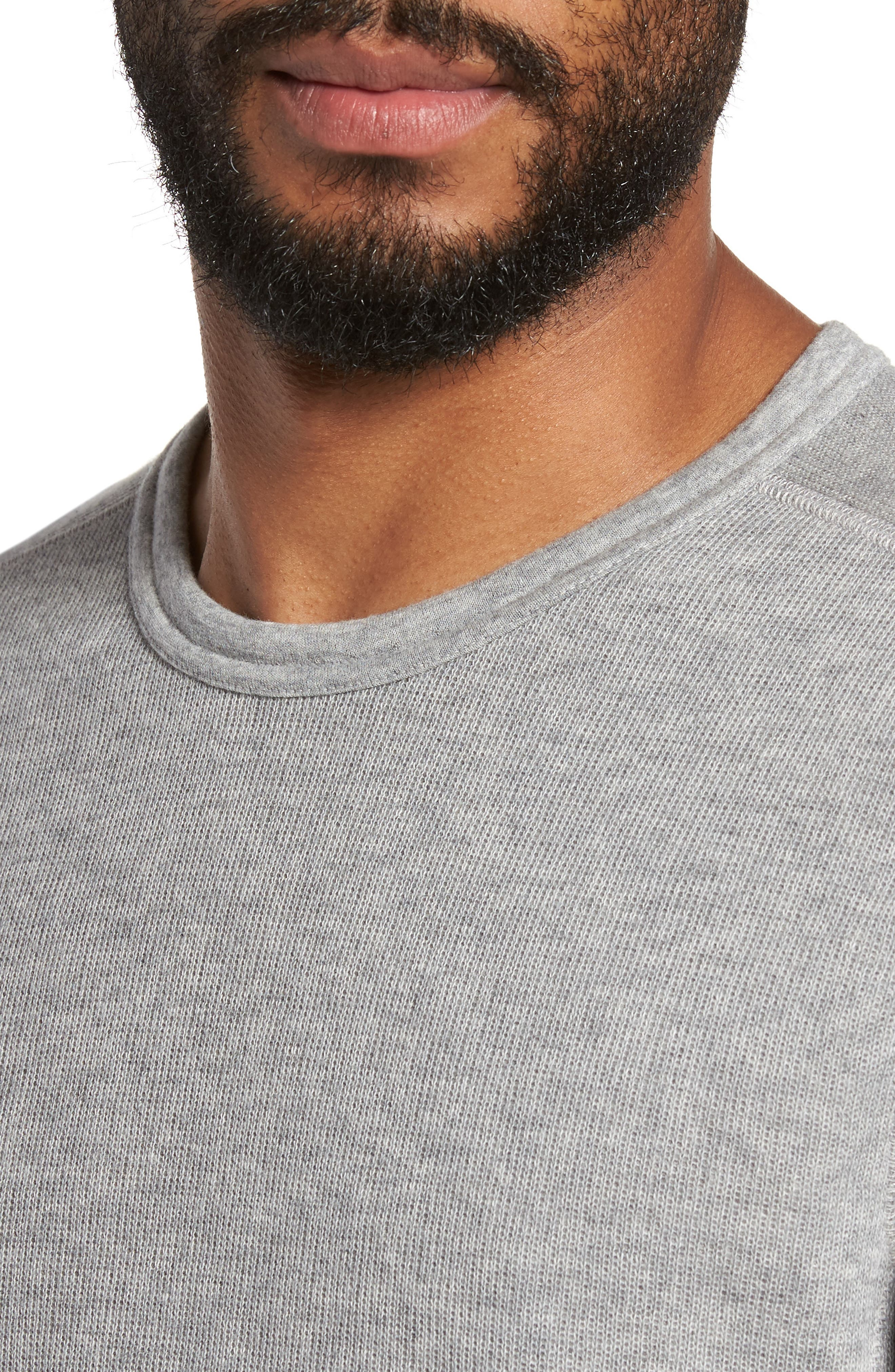Double Knit Long Sleeve T-Shirt,                             Alternate thumbnail 17, color,