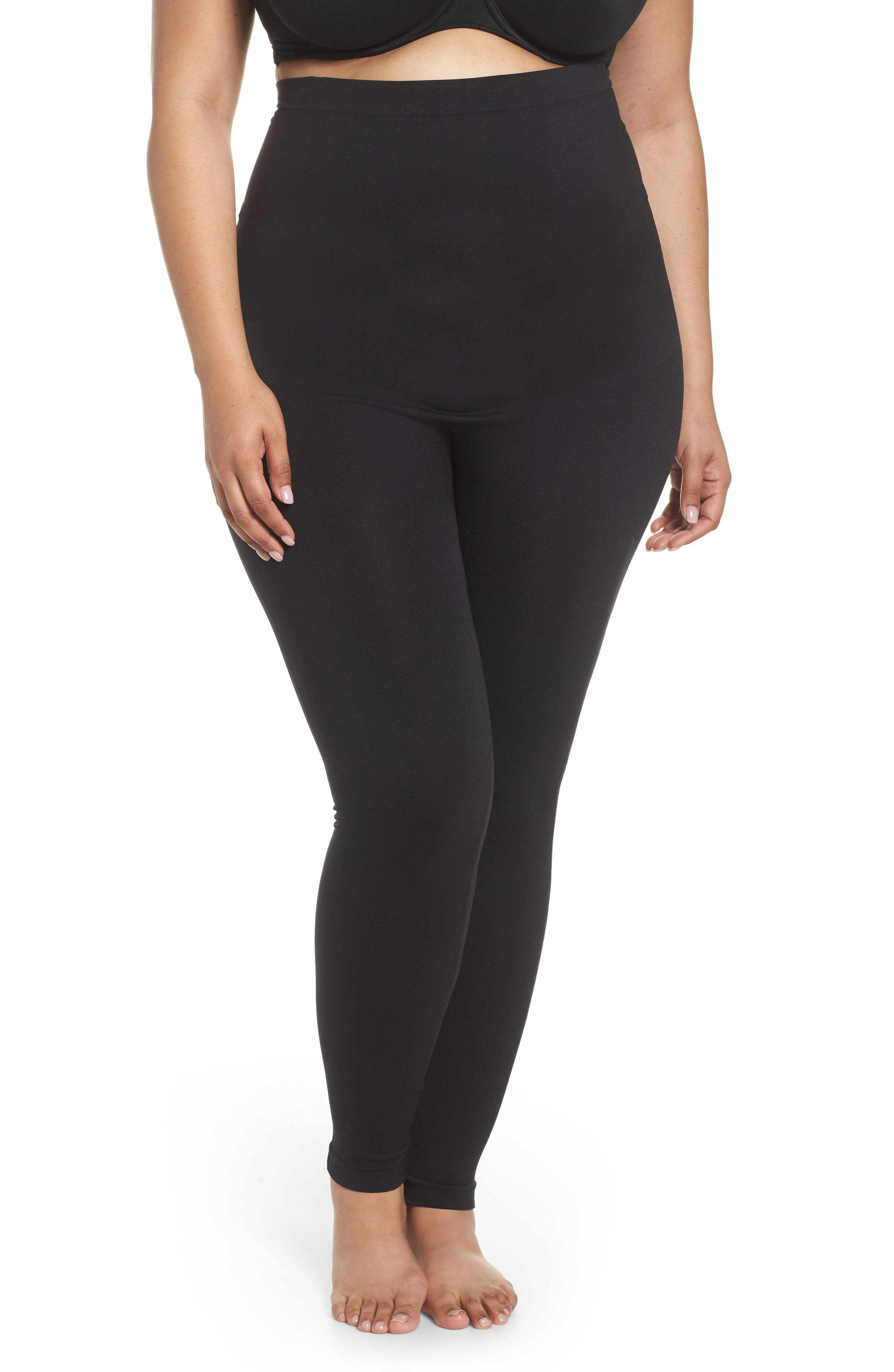 Look At Me Now Seamless Leggings,                         Main,                         color, VERY BLACK