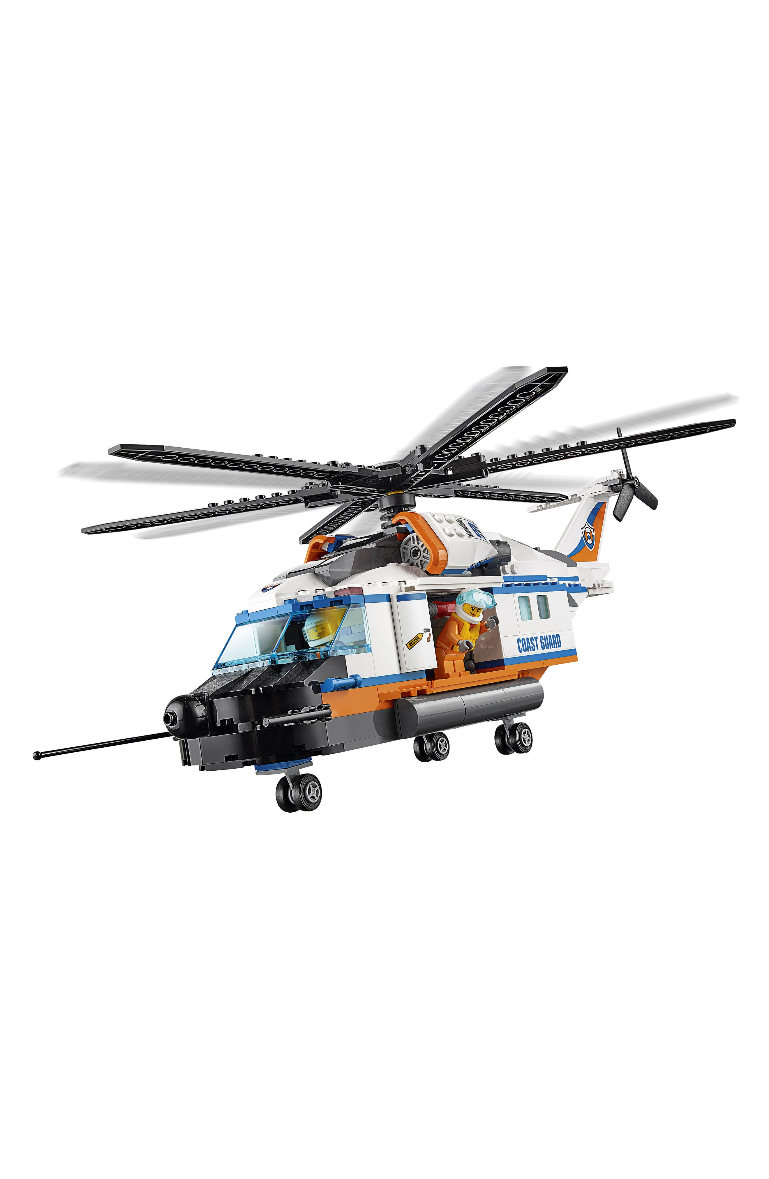 City Heavy-Duty Rescue Helicopter - 60166,                             Alternate thumbnail 2, color,                             100
