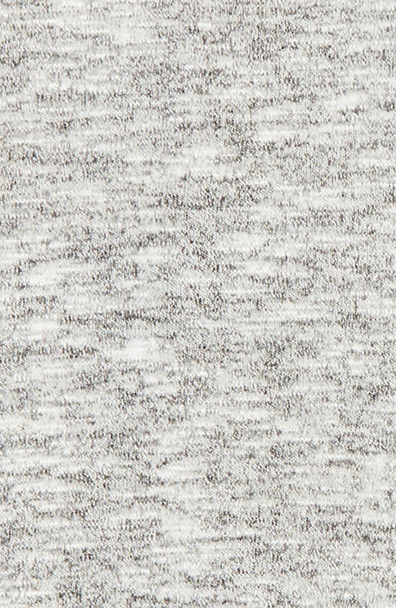 Vinyasa Cutout Hooded Pullover,                             Alternate thumbnail 3, color,                             001