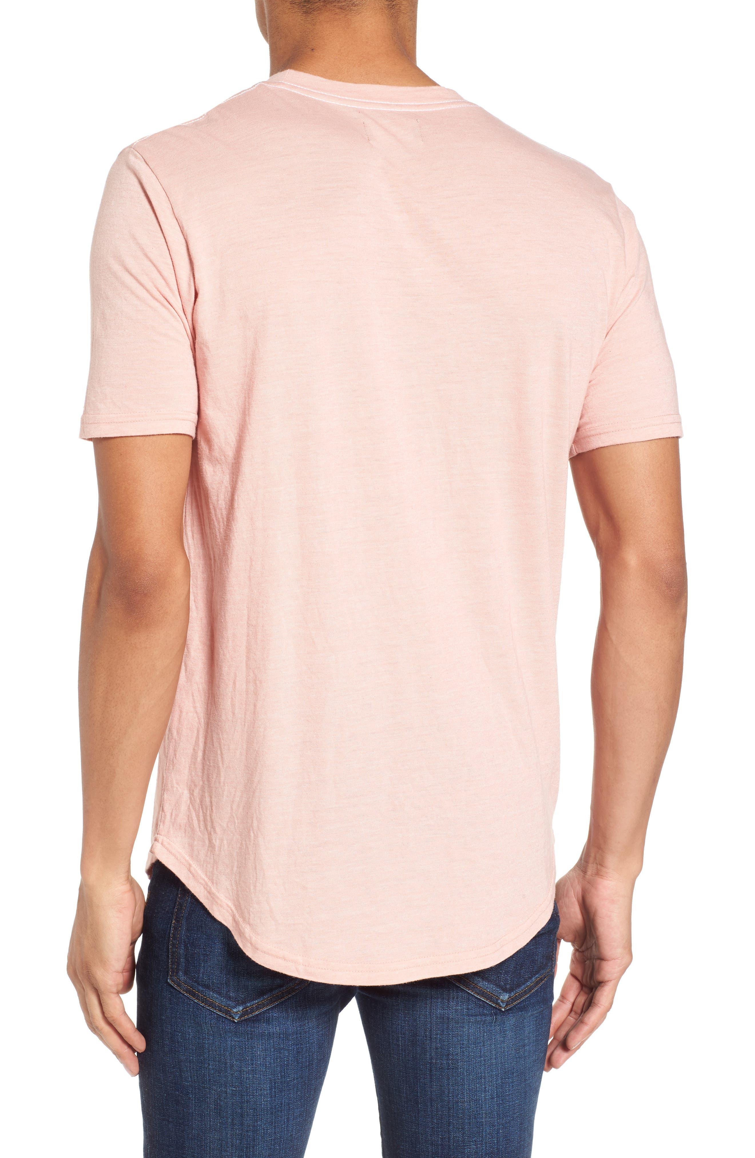 Scallop Triblend Crewneck T-Shirt,                             Alternate thumbnail 35, color,