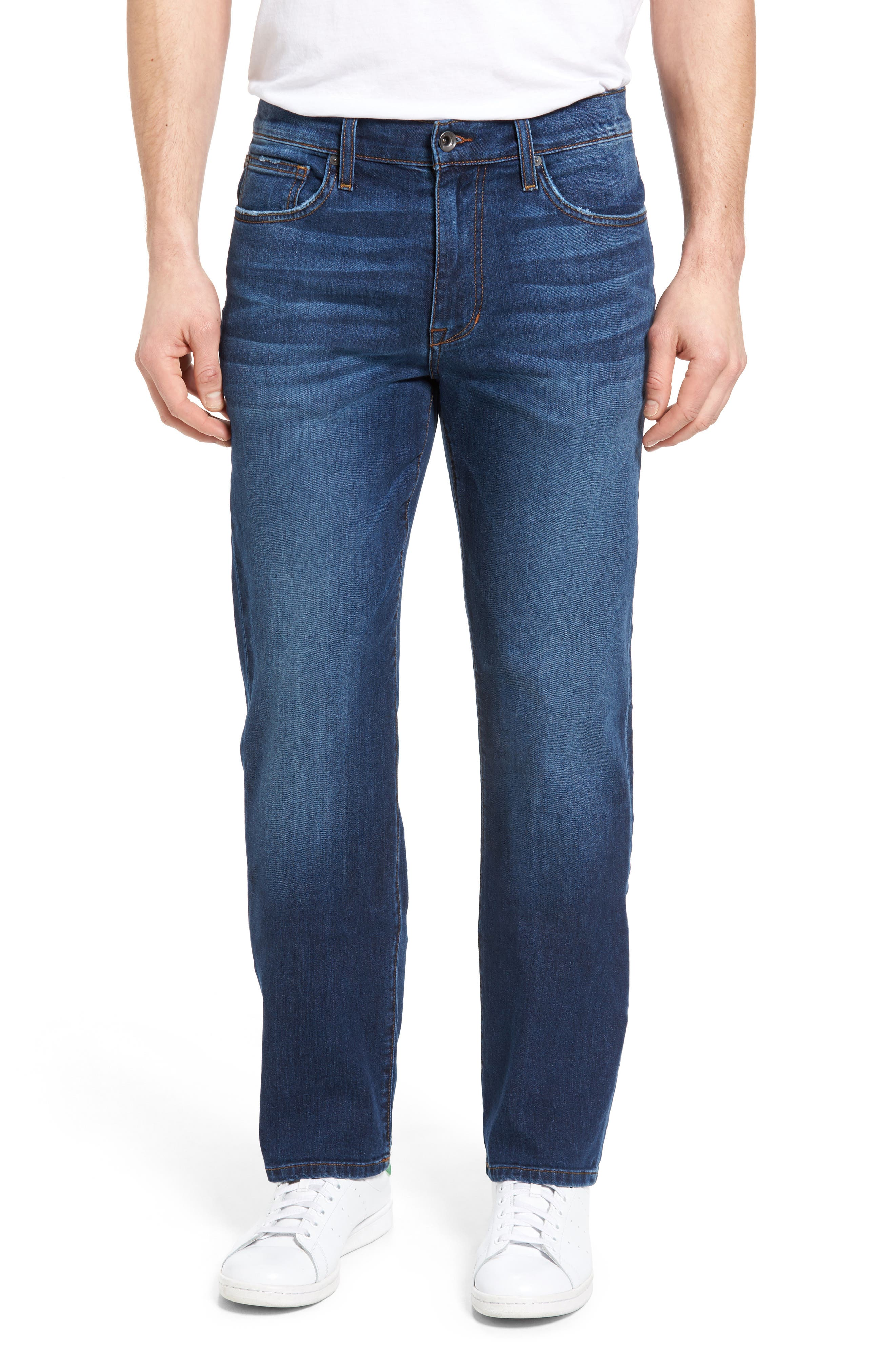 Classic Straight Leg Jeans,                             Main thumbnail 1, color,                             410