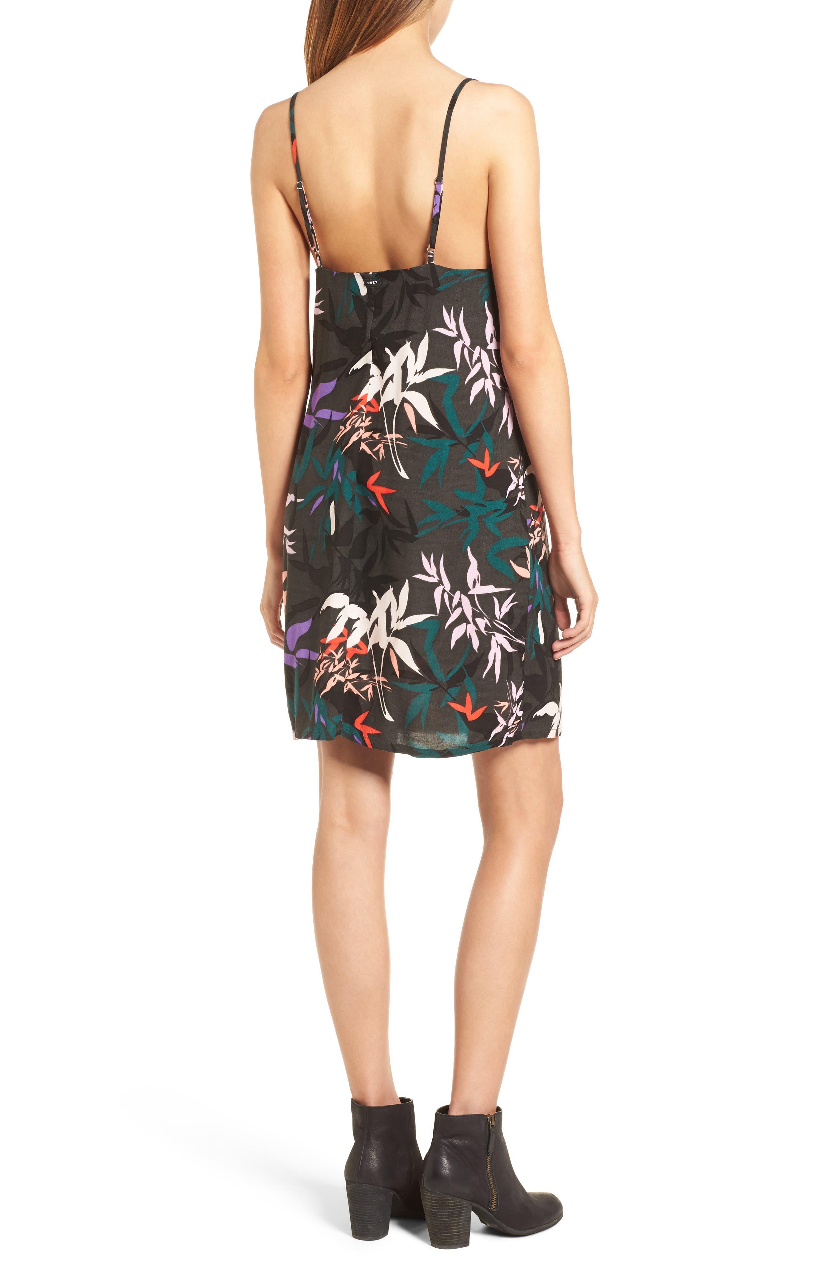 Calyx Cowl Neck Dress,                             Alternate thumbnail 2, color,