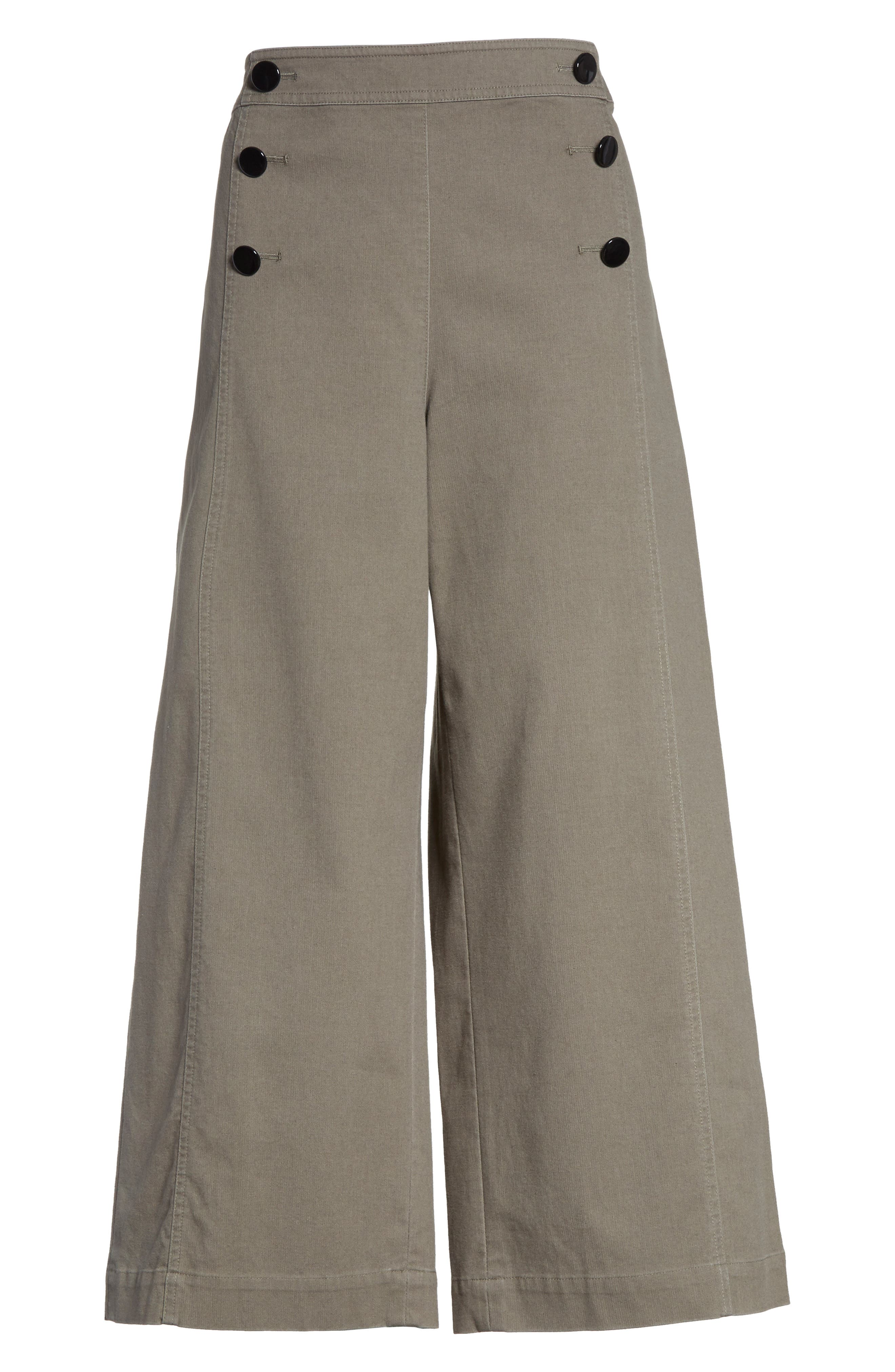 crop military pants,                             Alternate thumbnail 6, color,                             301