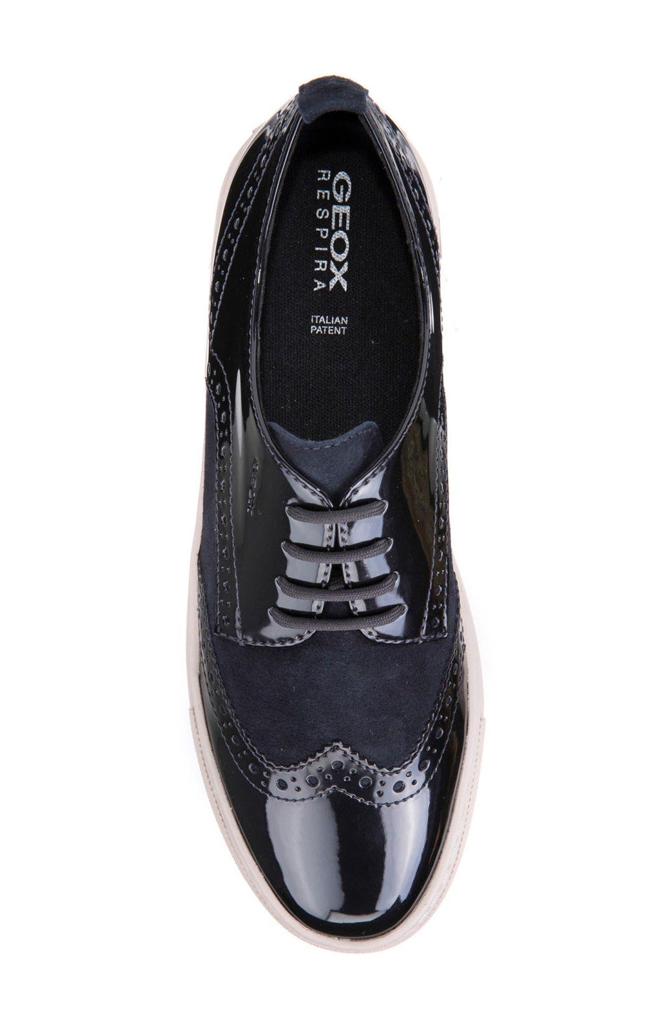 Breeda Oxford Sneaker,                             Alternate thumbnail 5, color,                             400