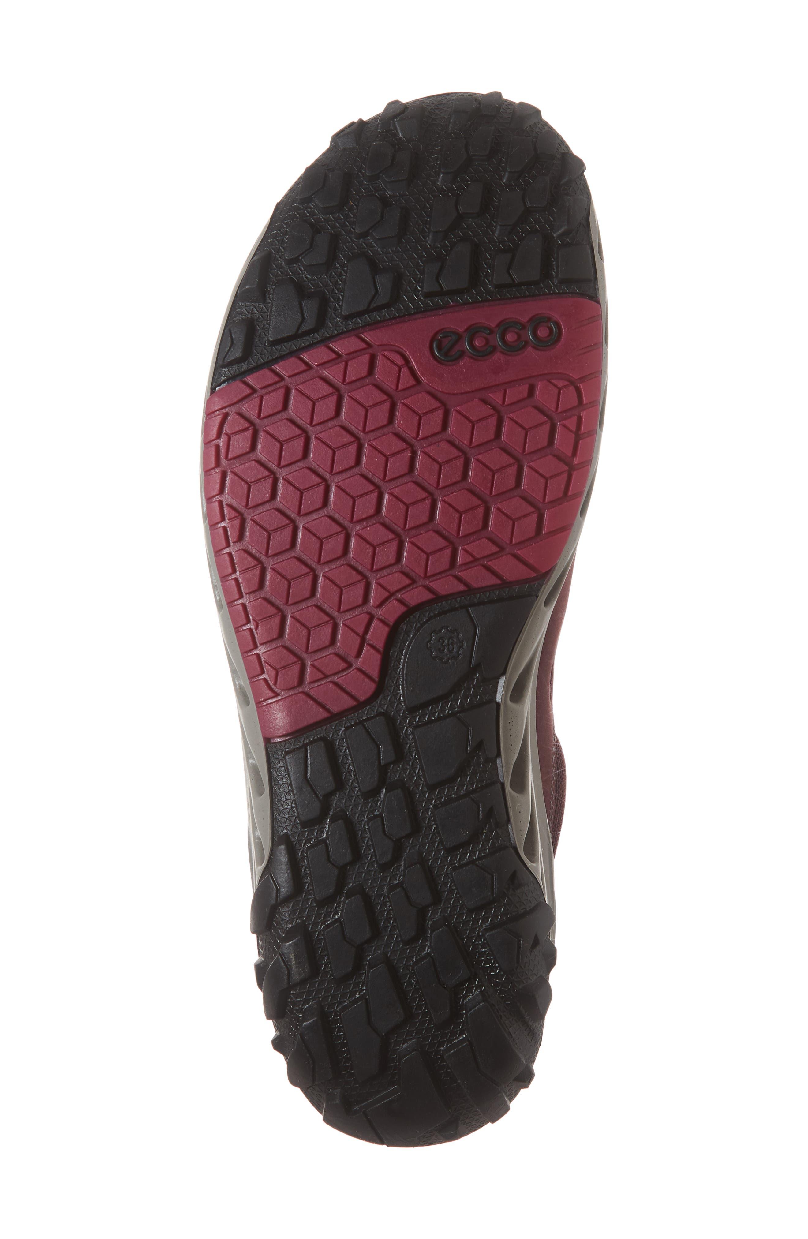 BIOM Venture GTX Sneaker,                             Alternate thumbnail 6, color,                             WINE NUBUCK LEATHER