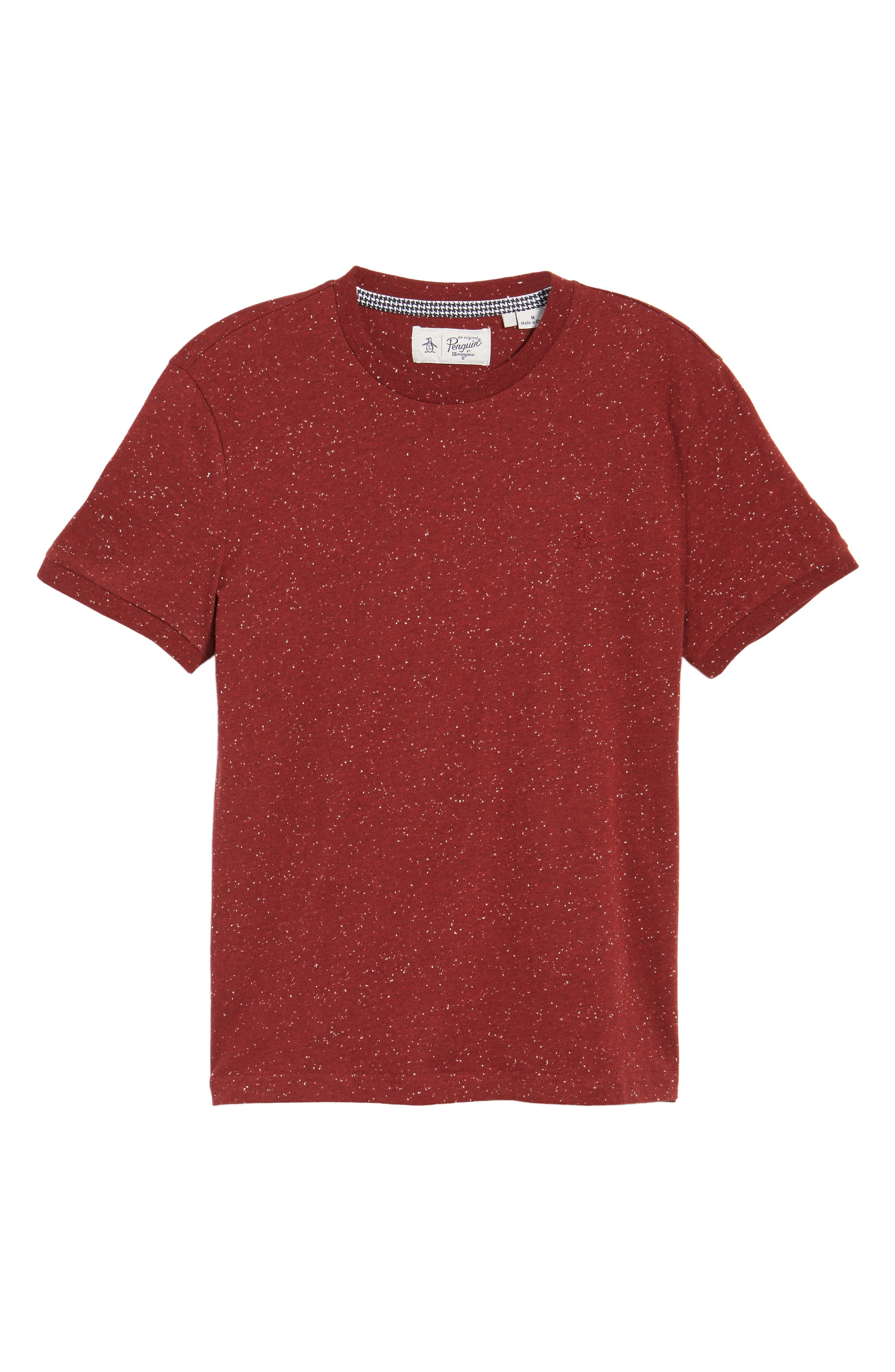 Nep Speckled T-Shirt,                             Alternate thumbnail 10, color,