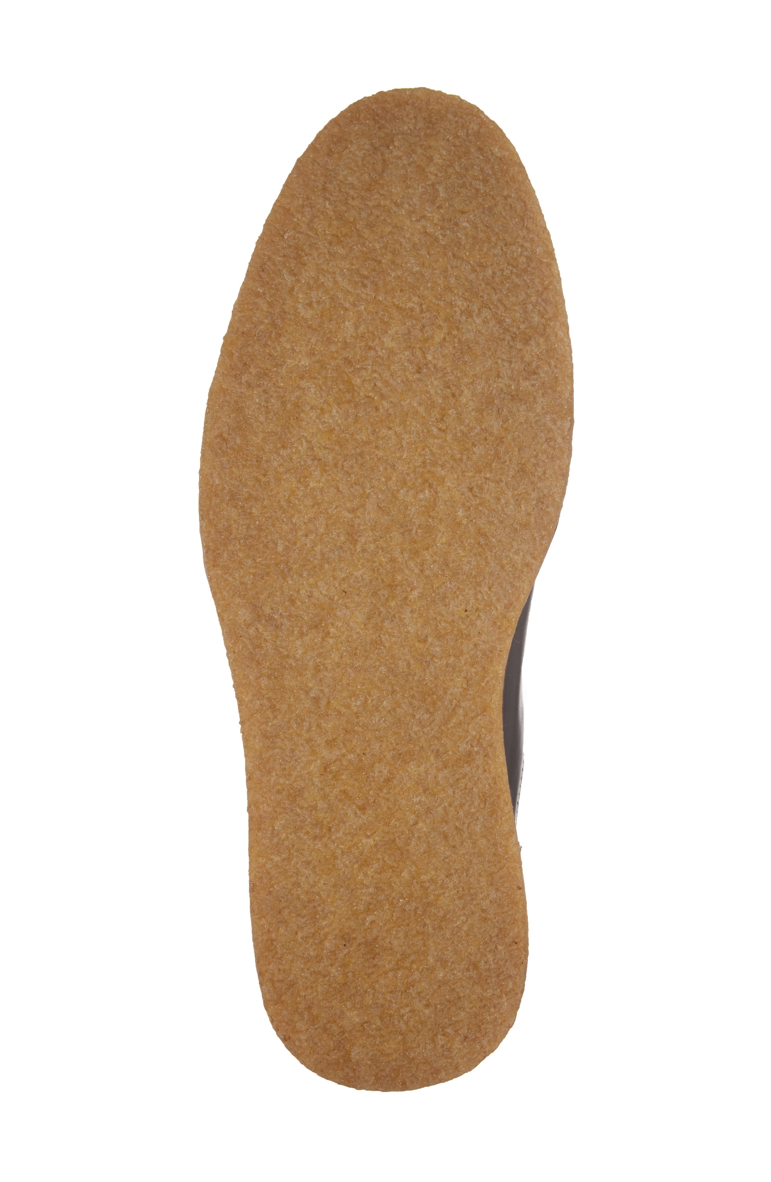 Leather Chelsea Boot,                             Alternate thumbnail 6, color,                             001
