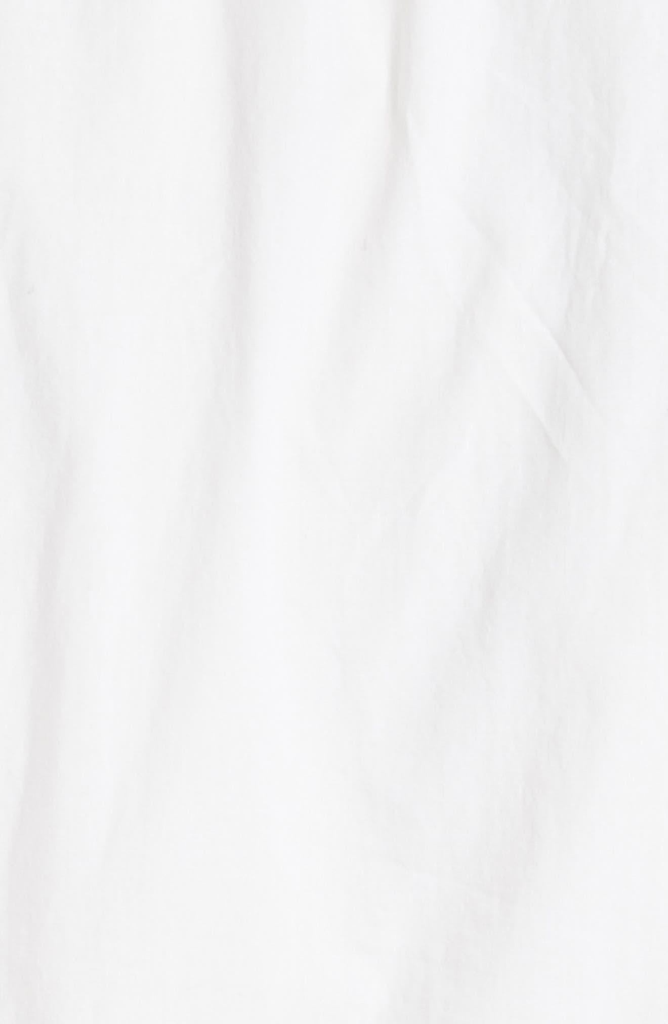 Capri Ladder Stitch Trim Midi Dress,                             Alternate thumbnail 6, color,                             903