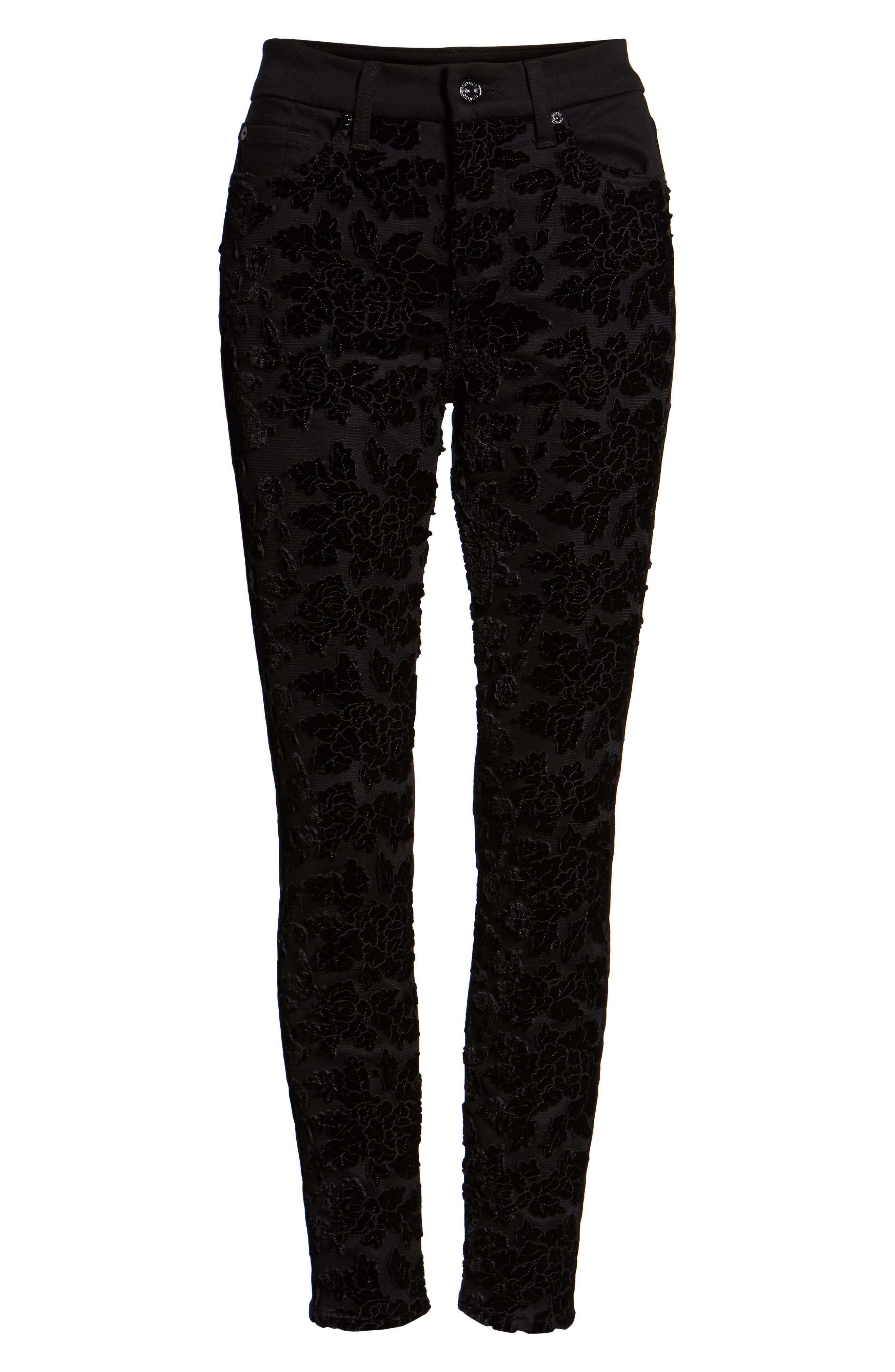 b(air) The Ankle Skinny Jeans,                             Alternate thumbnail 7, color,                             004