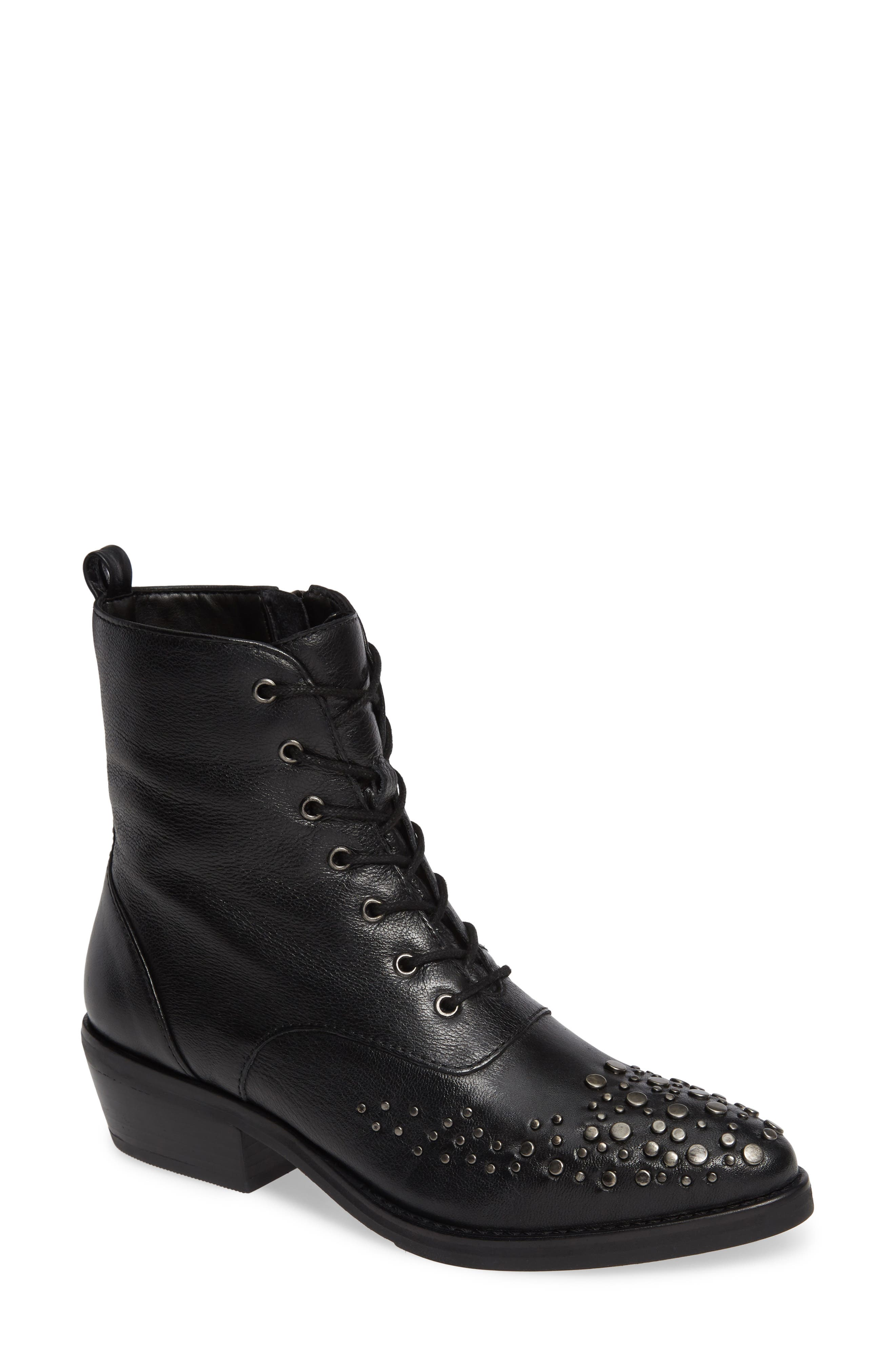 LUST FOR LIFE Portland Boot in Black Leather