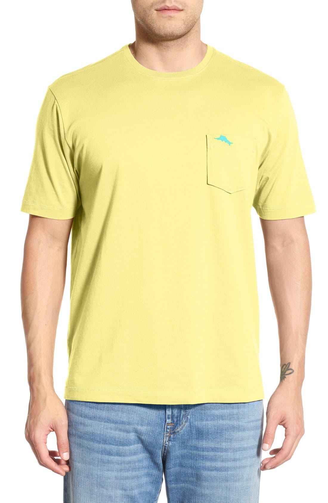 New Bali Sky Pima Cotton Pocket T-Shirt,                             Main thumbnail 57, color,