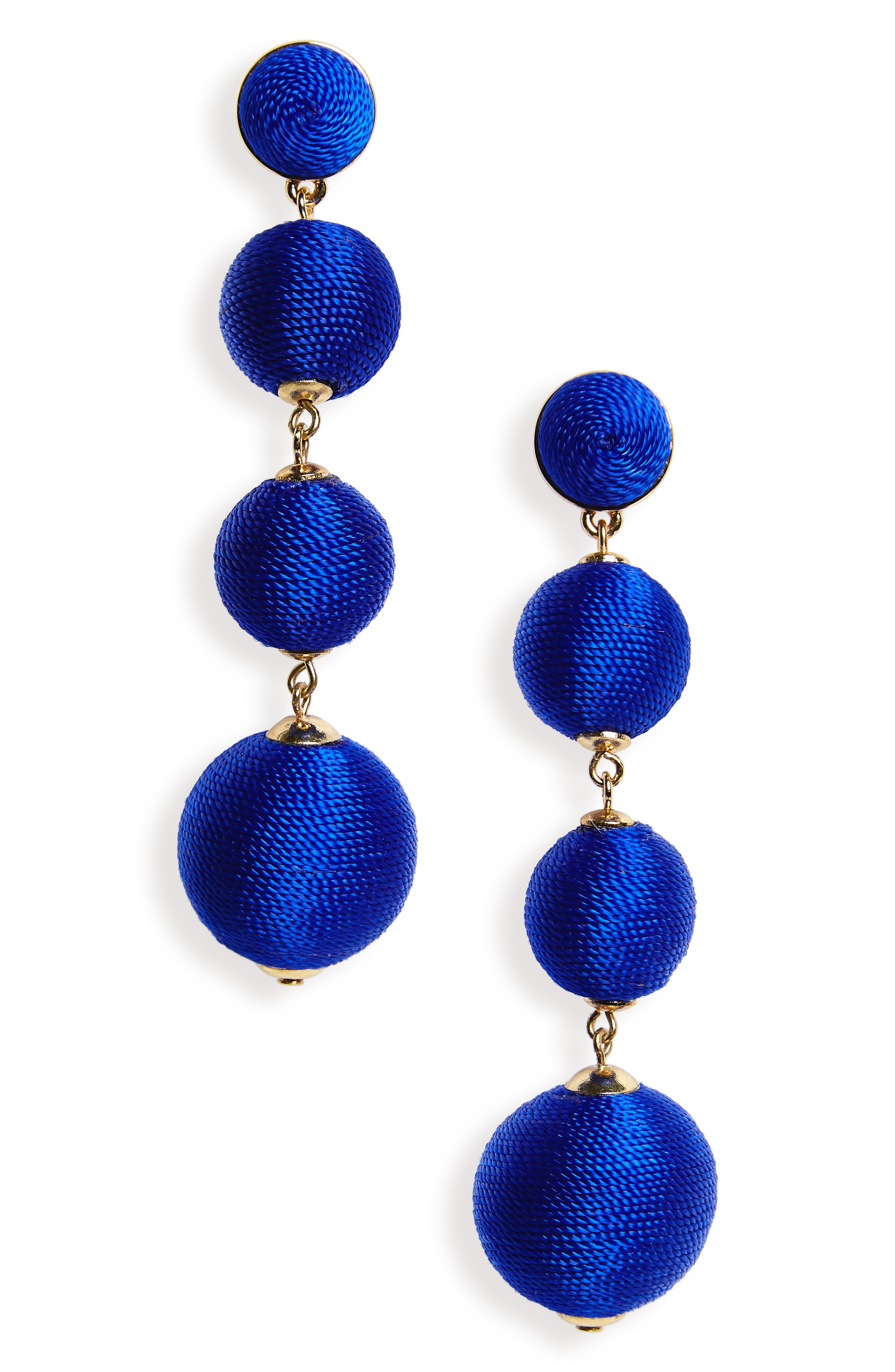 Criselda Ball Shoulder Duster Earrings,                             Main thumbnail 4, color,