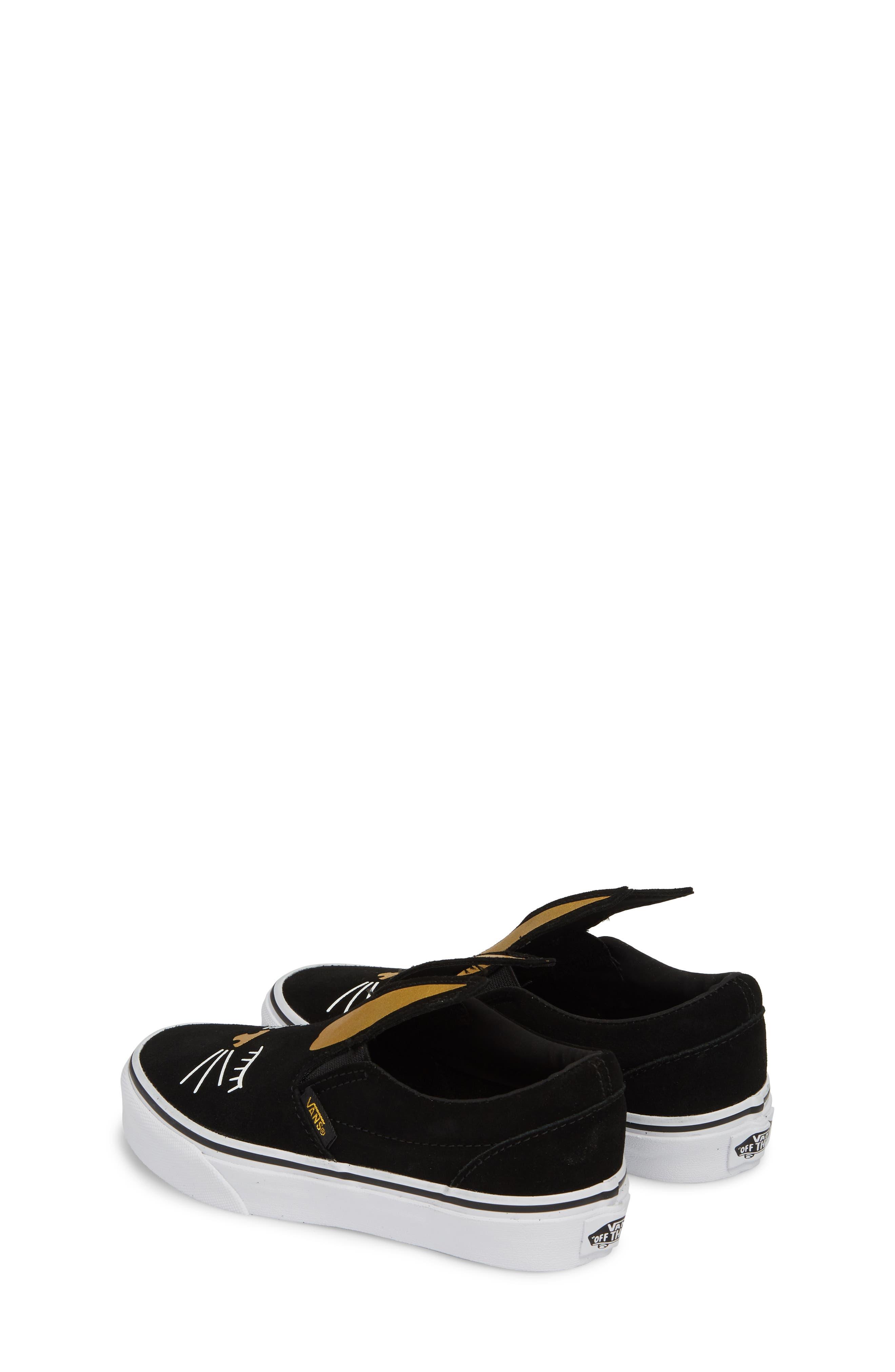 Slip-On Bunny Sneaker,                             Alternate thumbnail 5, color,