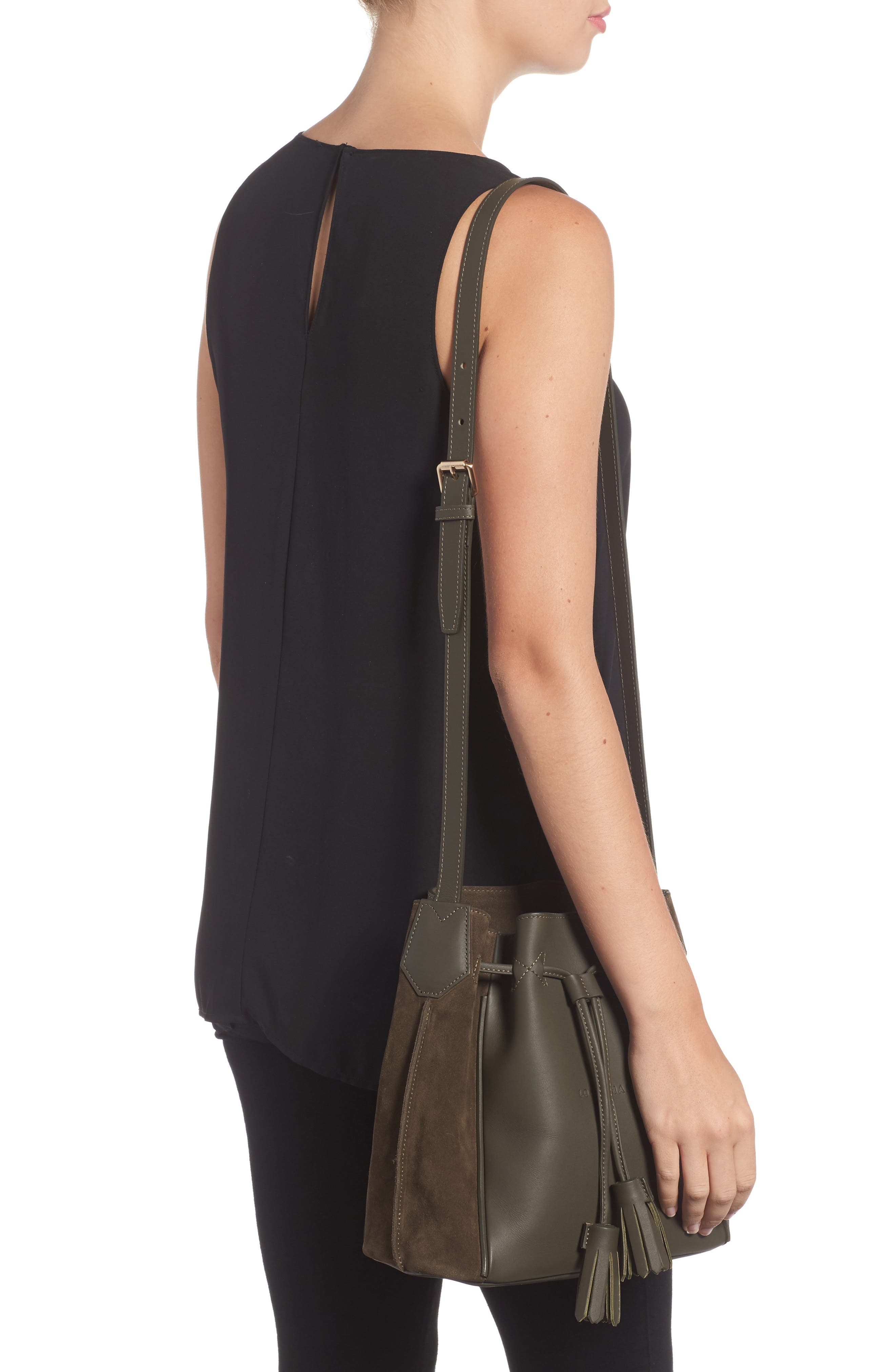 Small Penelope Leather Tote,                             Alternate thumbnail 2, color,                             300