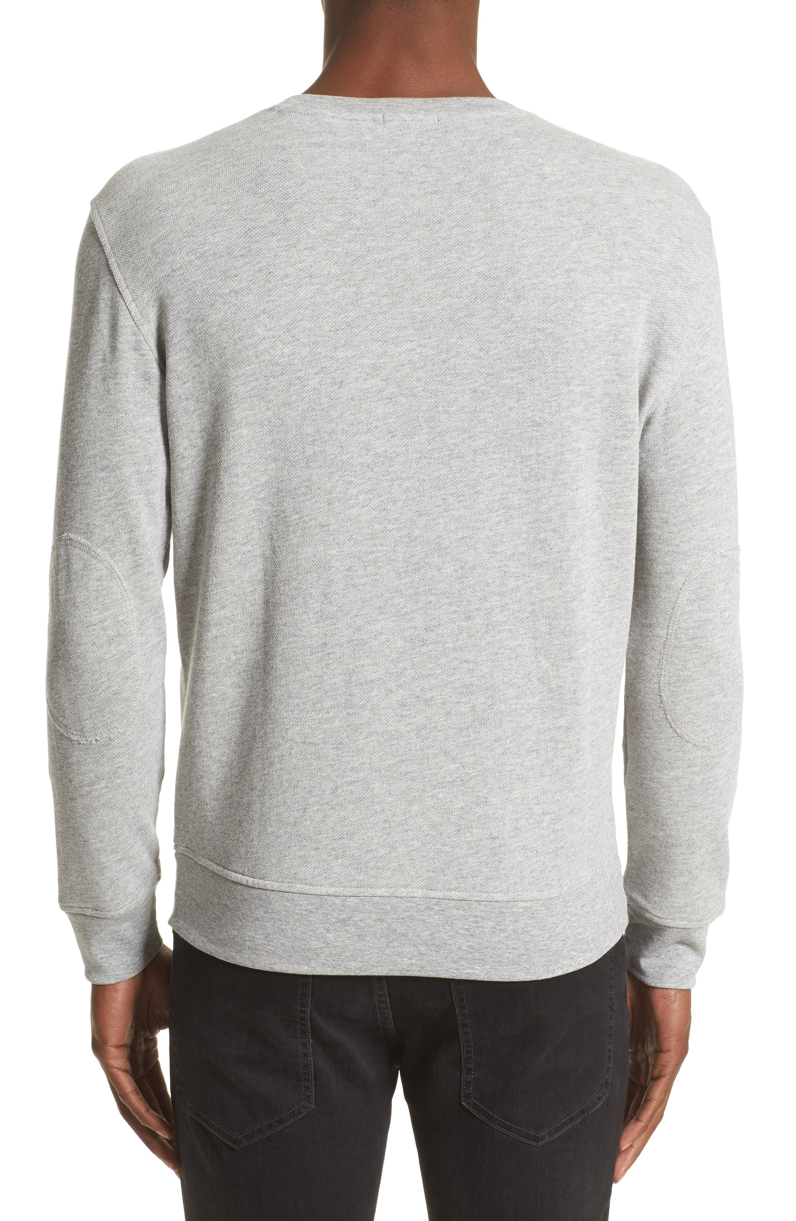 French Terry Sweatshirt,                             Alternate thumbnail 2, color,                             050