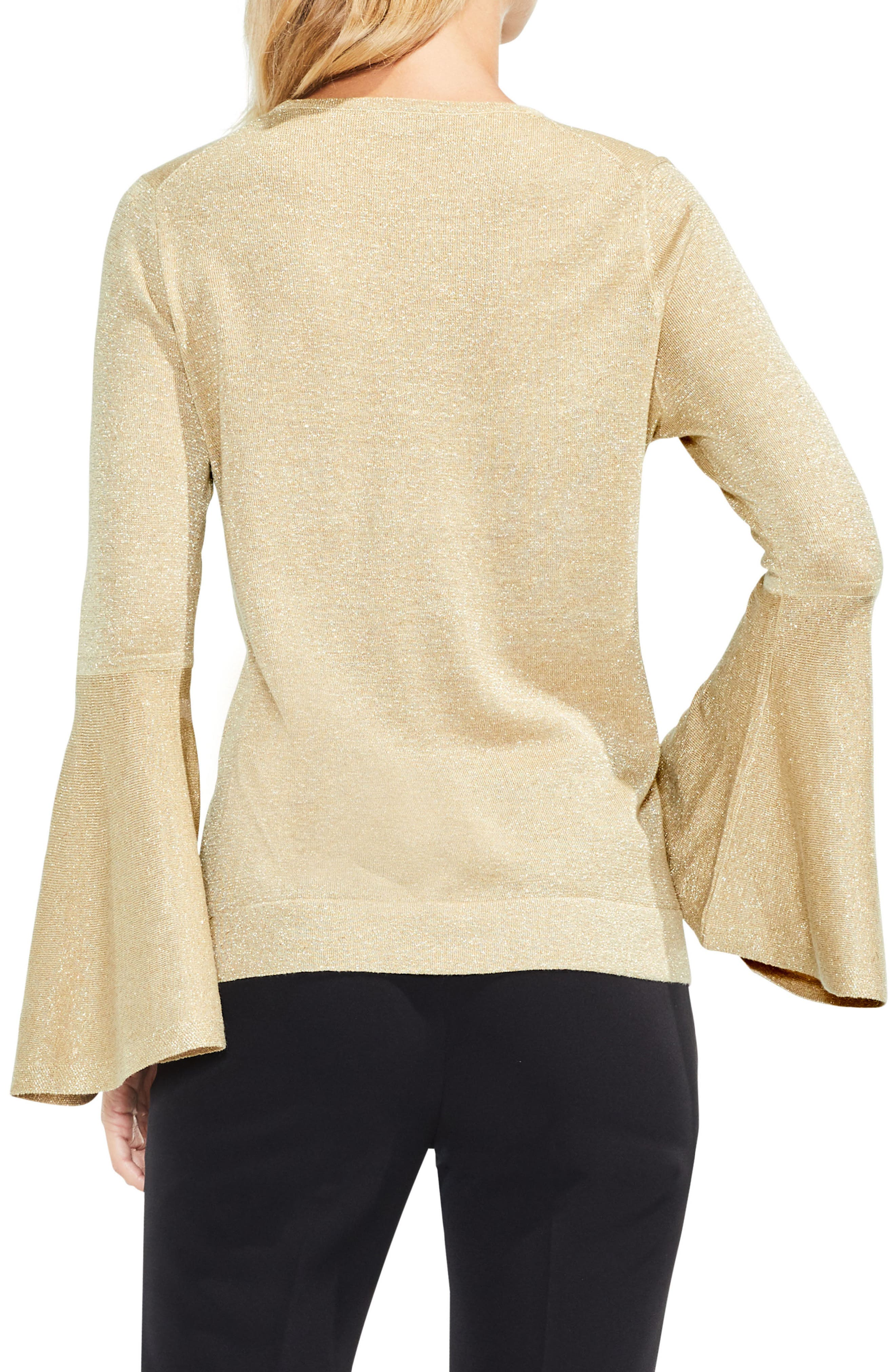 Bell Sleeve Sweater,                             Alternate thumbnail 12, color,