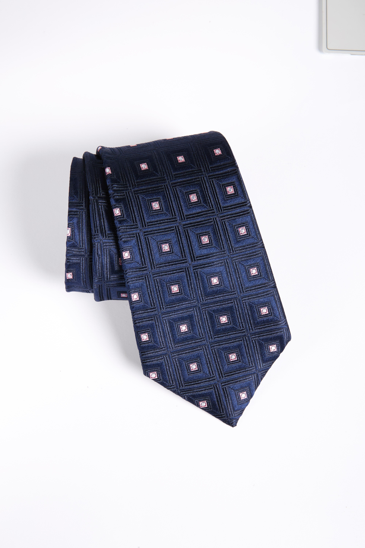 Frame Diamonds Silk Tie,                             Main thumbnail 1, color,