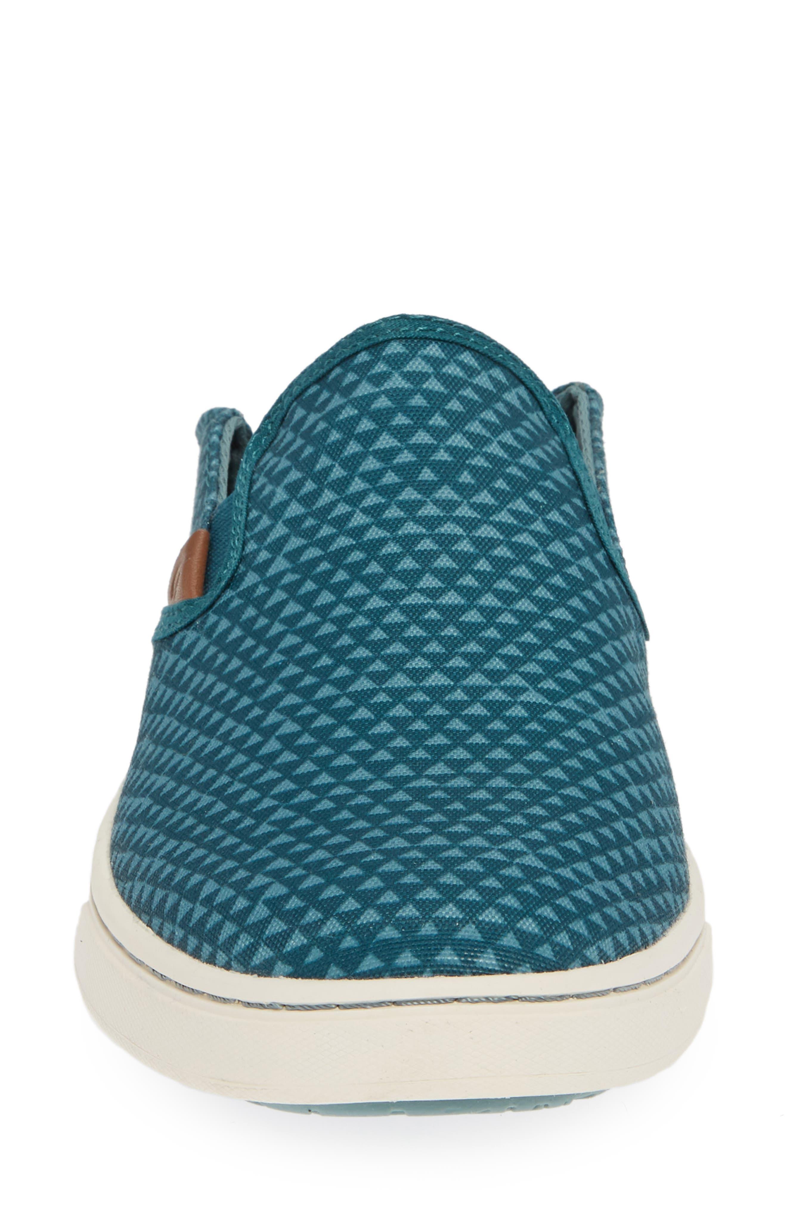 Pehuea Pa'i Convertible Sneaker,                             Alternate thumbnail 5, color,                             DEEP TEAL/ TRIANGLE FABRIC
