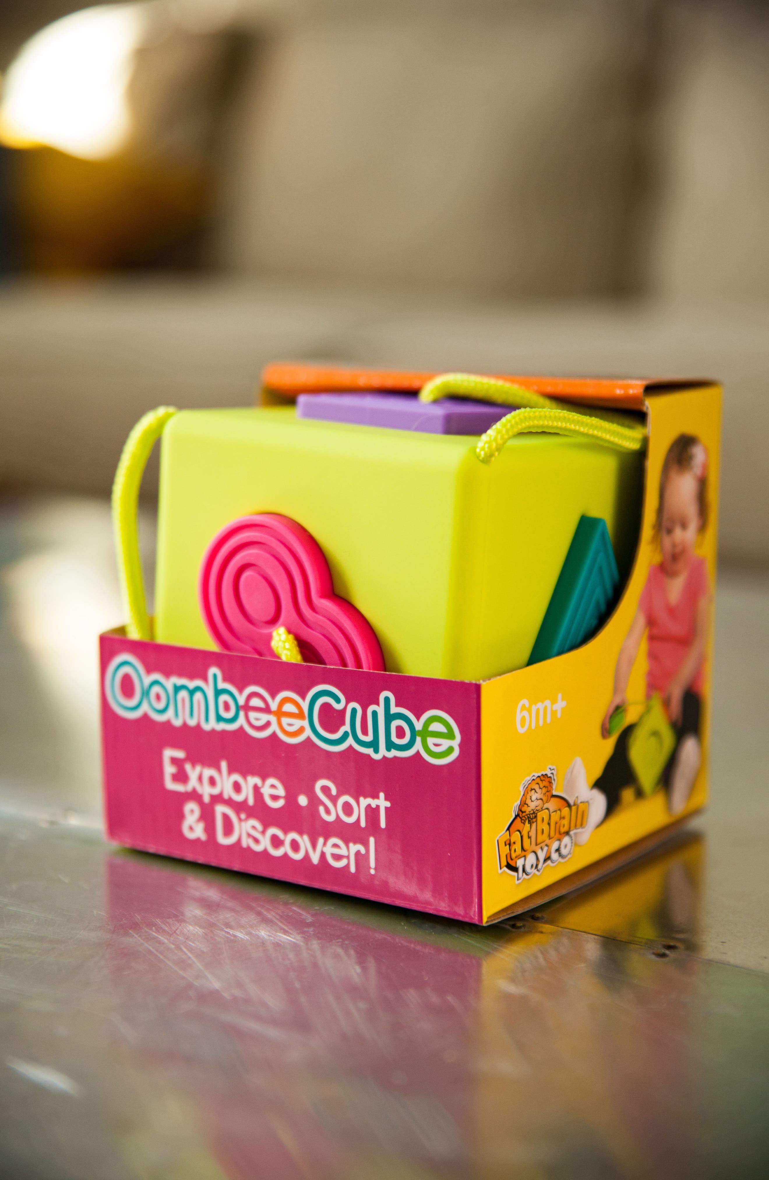 OombeeCube Sorting Toy,                             Alternate thumbnail 2, color,                             300